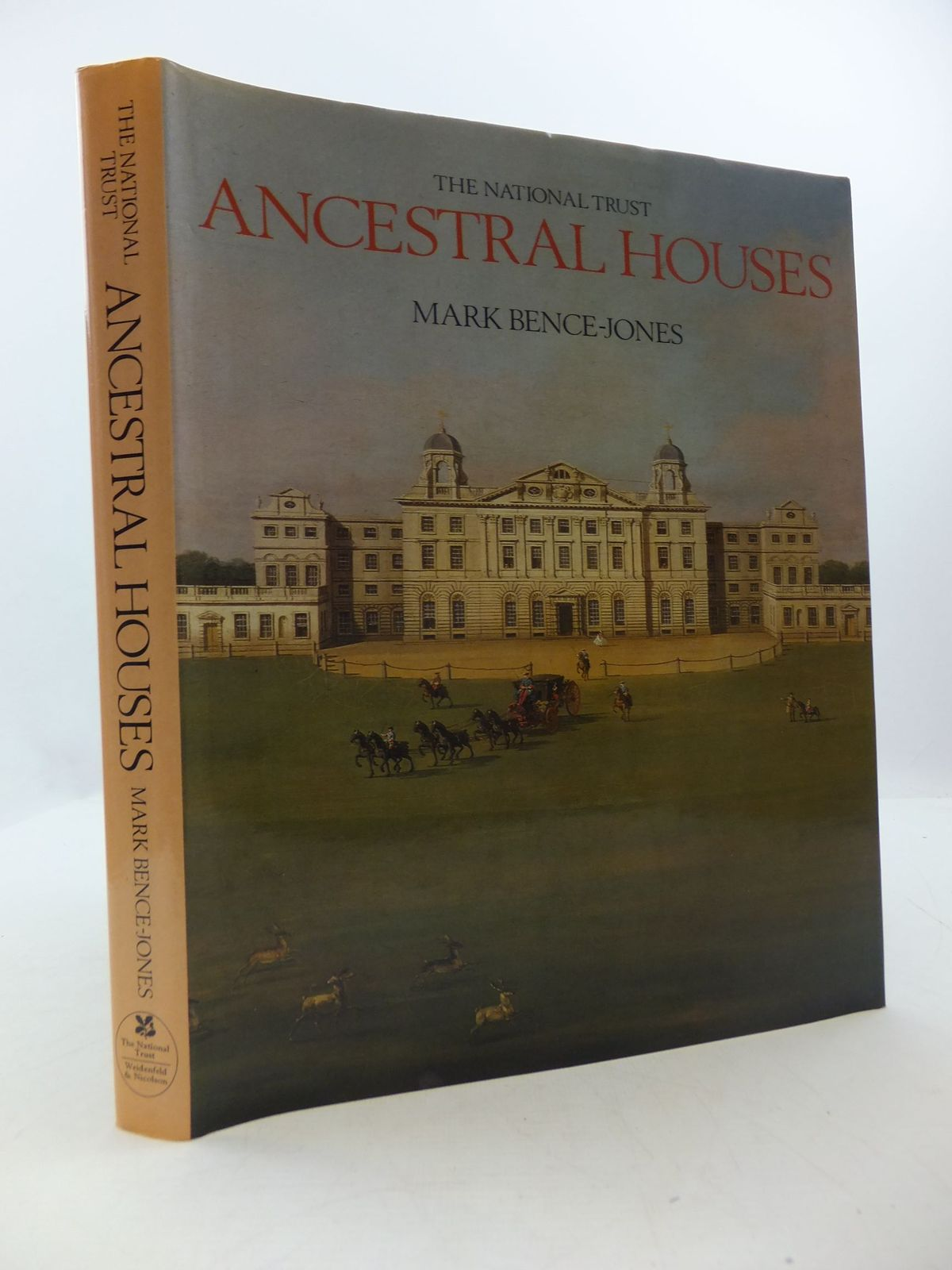 Photo of THE NATIONAL TRUST ANCESTRAL HOUSES written by Bence-Jones, Mark published by The National Trust<br />Weidenfeld and Nicolson (STOCK CODE: 2111532)  for sale by Stella & Rose's Books