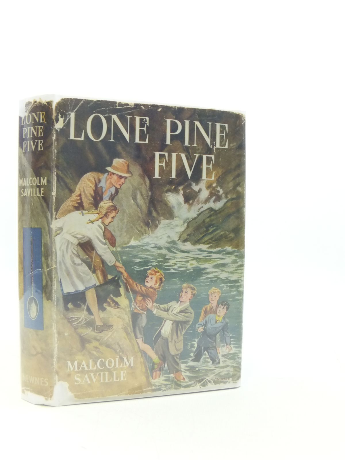 Photo of LONE PINE FIVE written by Saville, Malcolm illustrated by Prance, Bertram published by George Newnes Ltd. (STOCK CODE: 2111644)  for sale by Stella & Rose's Books