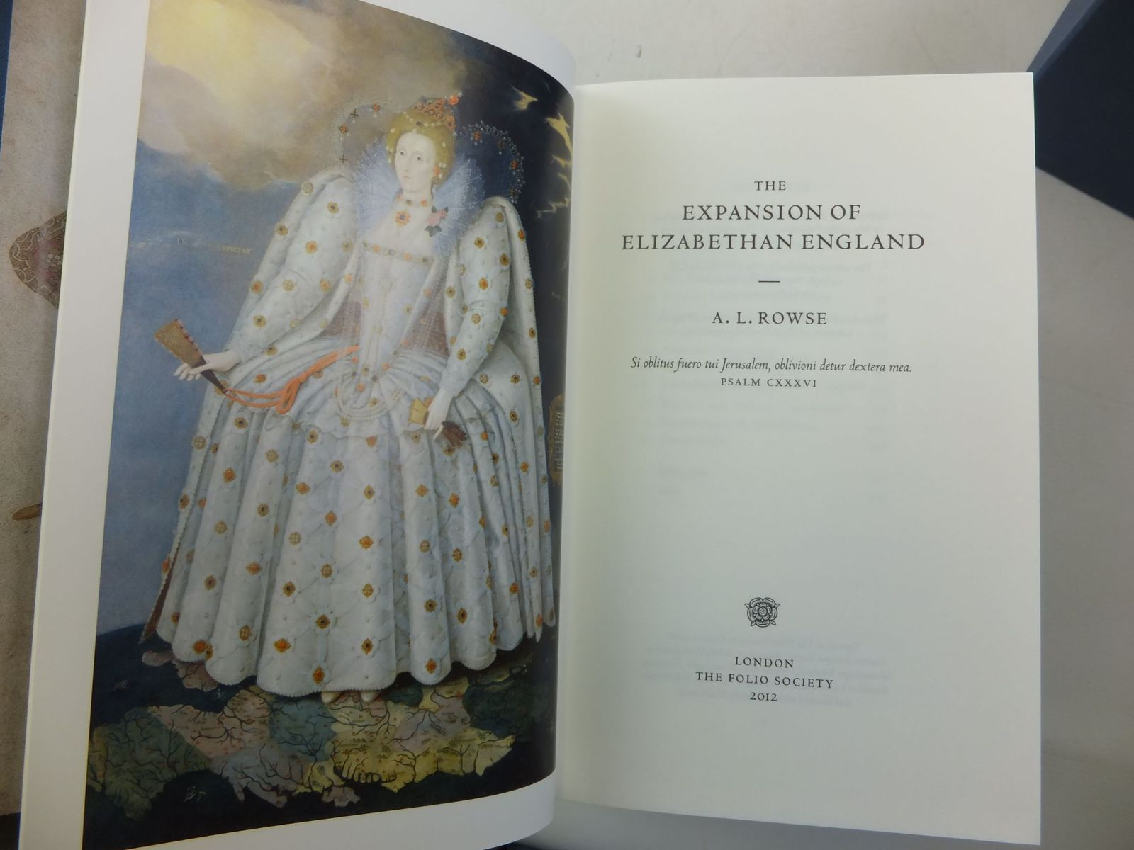Photo of THE ELIZABETHAN AGE (4 VOLUMES) written by Rowse, A.L. published by Folio Society (STOCK CODE: 2111815)  for sale by Stella & Rose's Books