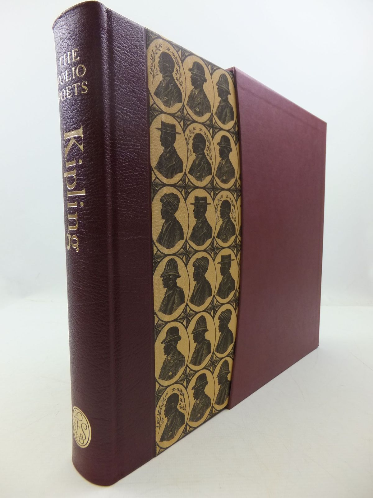Photo of RUDYARD KIPLING SELECTED POEMS written by Kipling, Rudyard<br />Lycett, Andrew illustrated by Tute, George published by Folio Society (STOCK CODE: 2111825)  for sale by Stella & Rose's Books