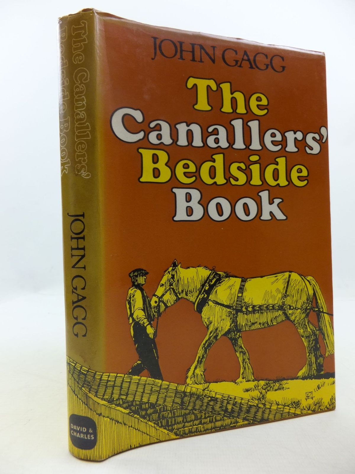 Photo of THE CANALLERS' BEDSIDE BOOK written by Gagg, John illustrated by Wilson, Robert published by David & Charles (STOCK CODE: 2111924)  for sale by Stella & Rose's Books