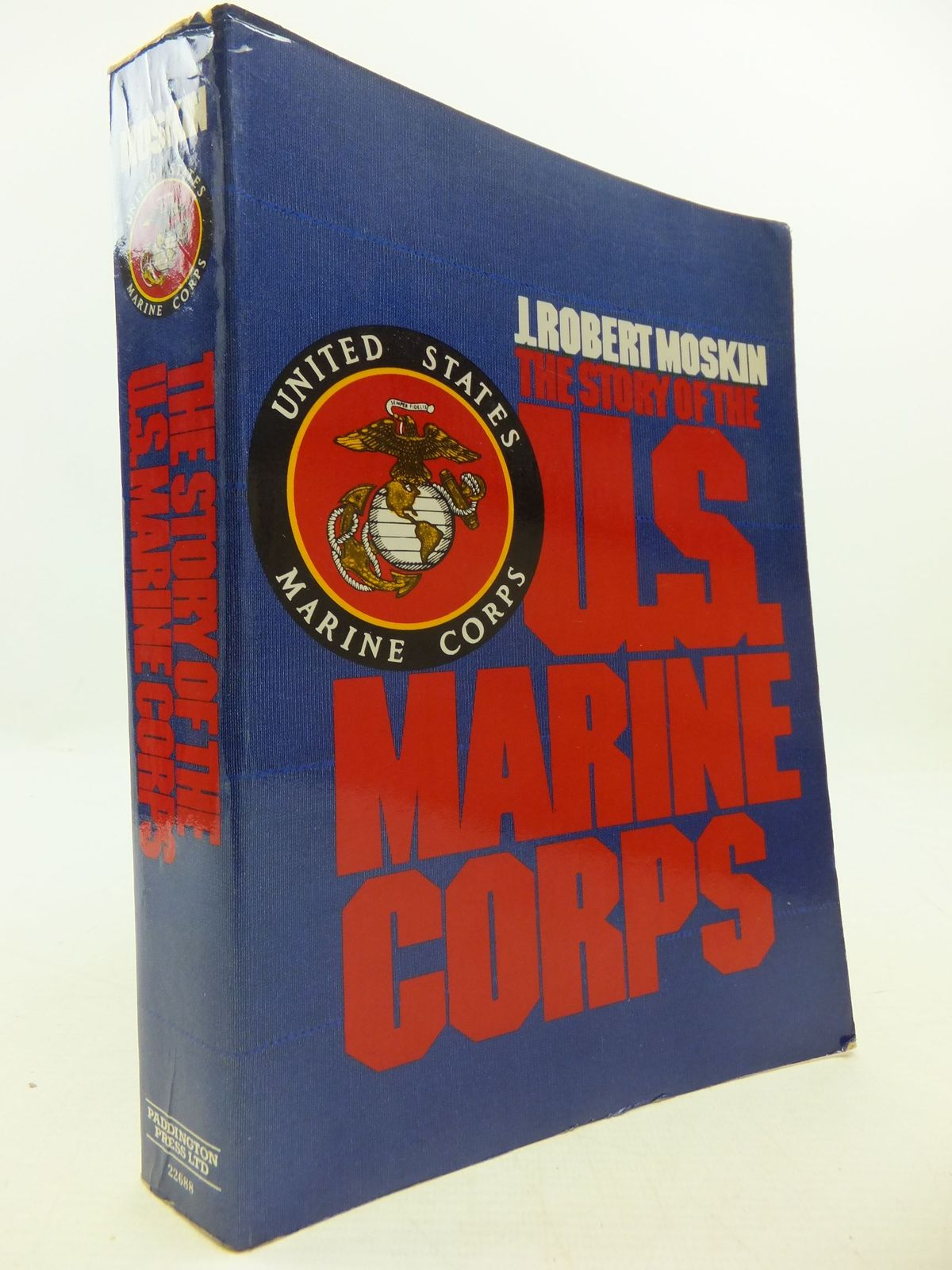 Photo of THE STORY OF THE U.S. MARINE CORPS written by Moskin, J. Robert published by Paddington Press Ltd. (STOCK CODE: 2111999)  for sale by Stella & Rose's Books