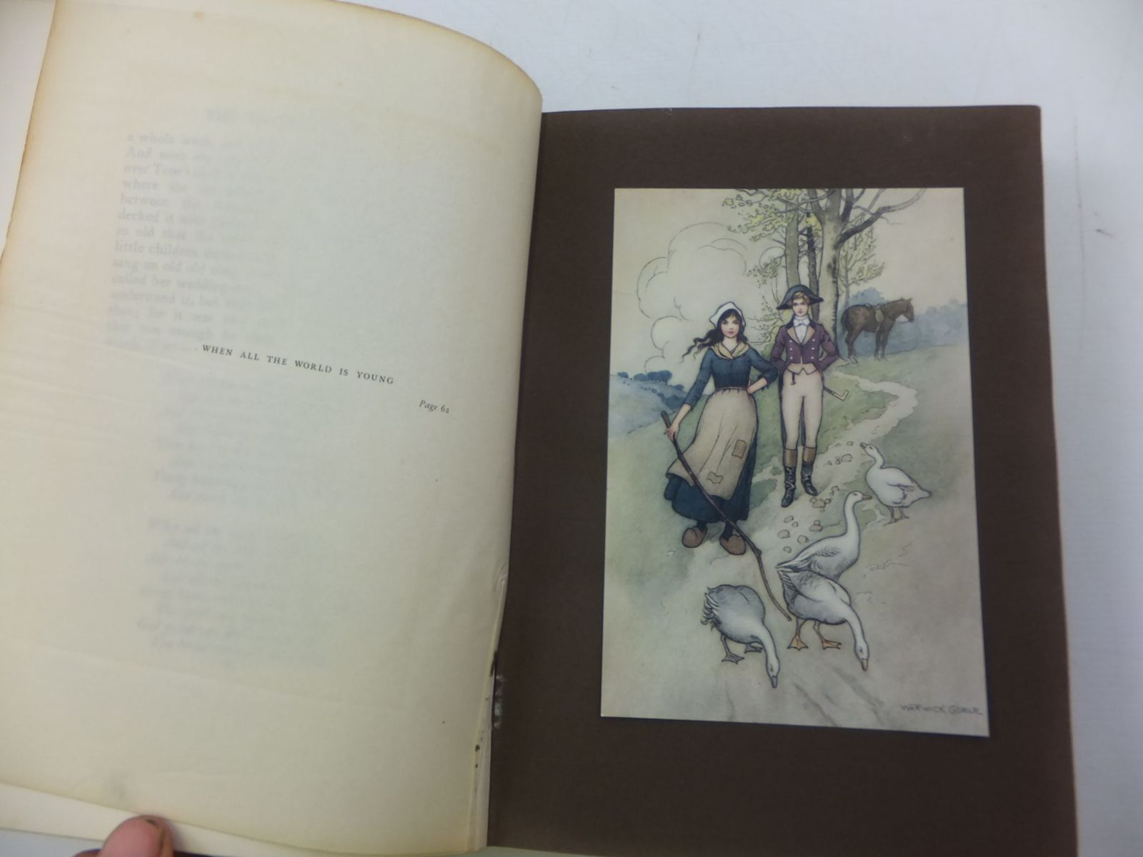 Photo of THE WATER-BABIES written by Kingsley, Charles illustrated by Goble, Warwick published by Macmillan & Co. Ltd. (STOCK CODE: 2112052)  for sale by Stella & Rose's Books