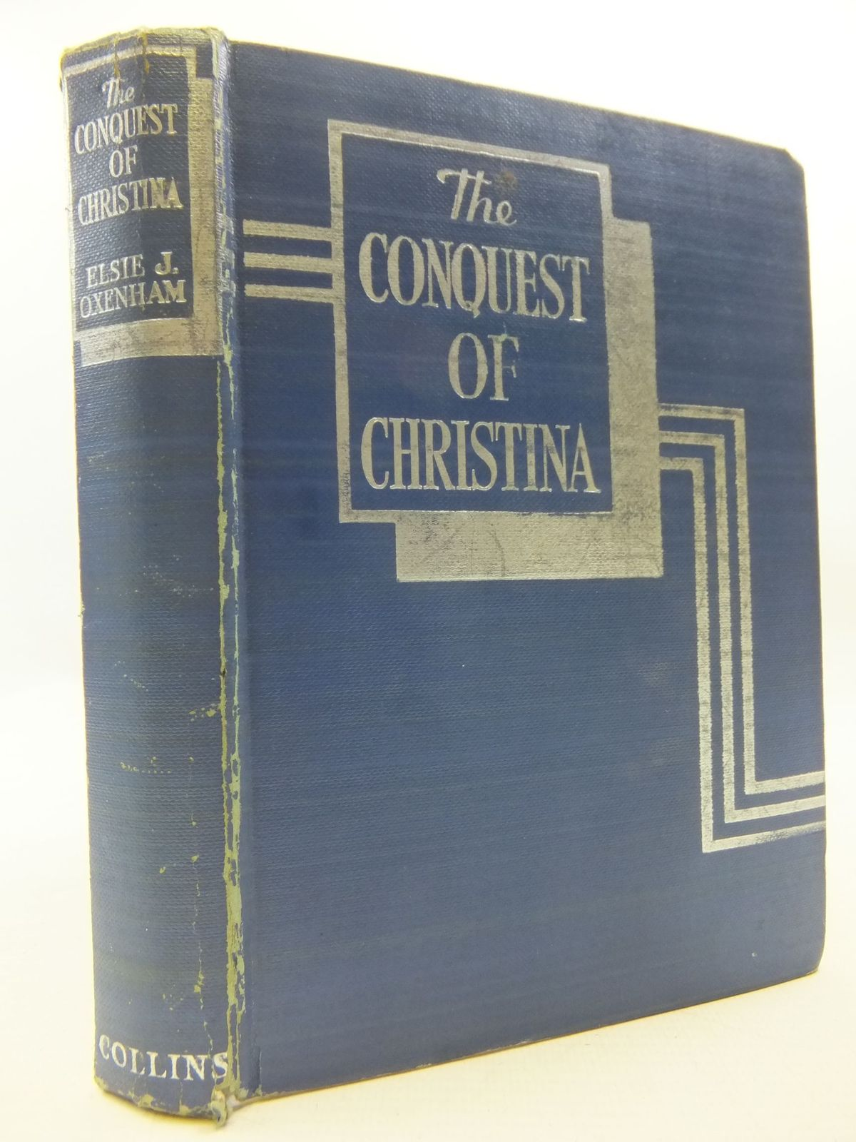 Photo of THE CONQUEST OF CHRISTINA written by Oxenham, Elsie J. illustrated by Lodge, Grace published by Collins (STOCK CODE: 2112084)  for sale by Stella & Rose's Books