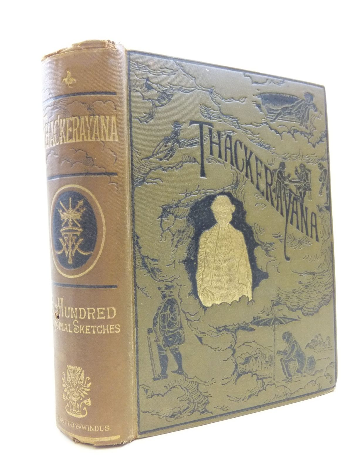 Photo of THACKERAYANA NOTES AND ANECDOTES written by Thackeray, William Makepeace illustrated by Thackeray, William Makepeace published by Chatto & Windus (STOCK CODE: 2112160)  for sale by Stella & Rose's Books