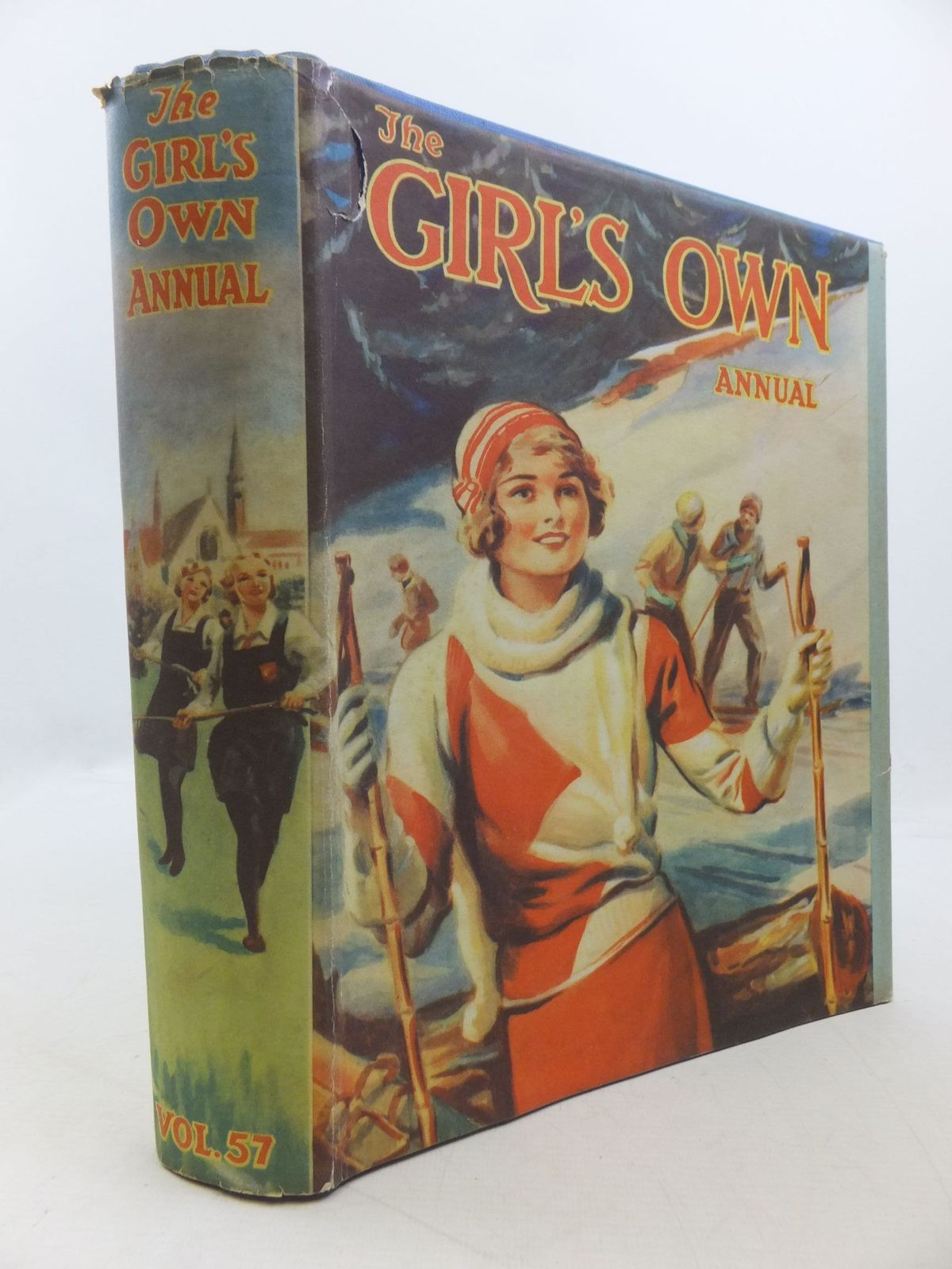 Photo of THE GIRL'S OWN ANNUAL - VOLUME 57 written by Spratt, Gladys M.<br />Oxenham, Elsie J.<br />et al,  published by The Girl's Own Paper Office (STOCK CODE: 2112187)  for sale by Stella & Rose's Books