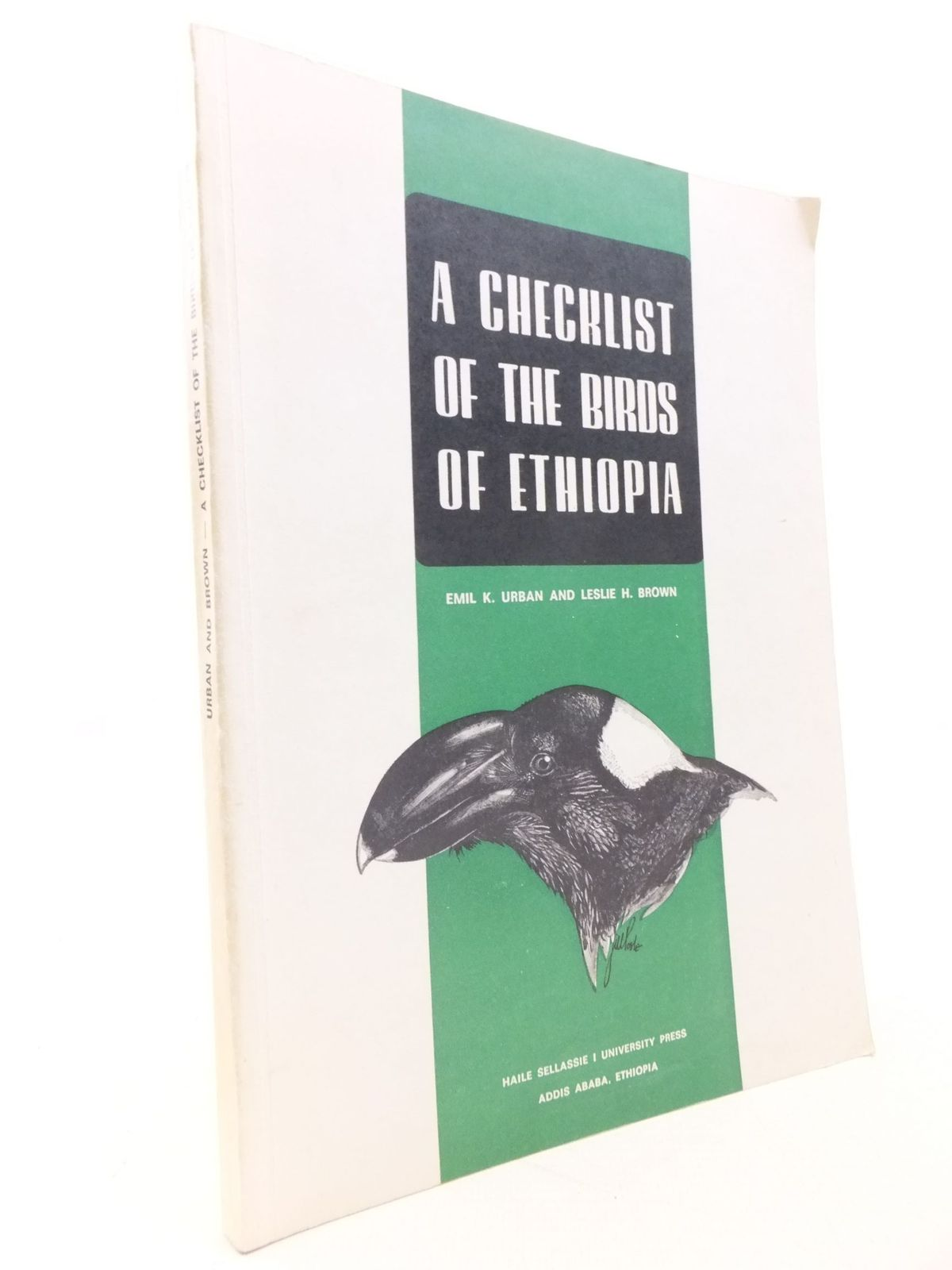 Photo of A CHECKLIST OF THE BIRDS OF ETHIOPIA written by Urban, Emil K.<br />Brown, Leslie H. published by Haile Sellassie I University (STOCK CODE: 2112201)  for sale by Stella & Rose's Books