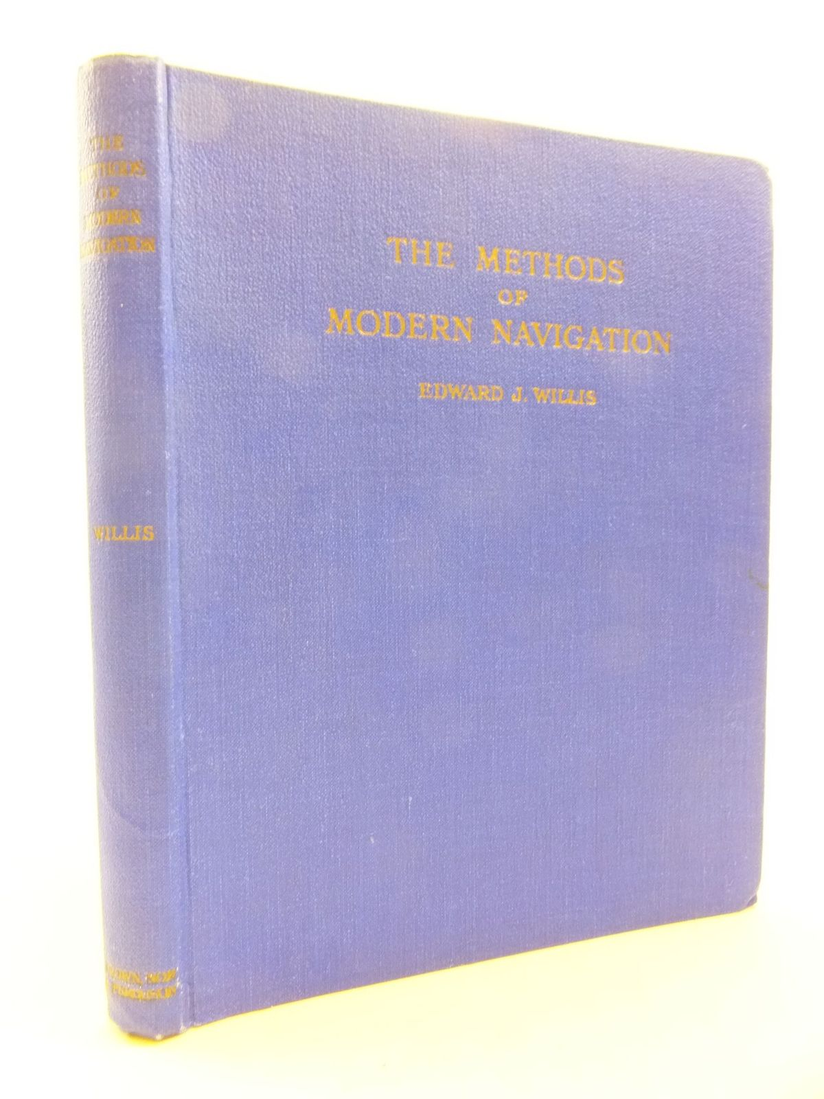 Photo of THE METHODS OF MODERN NAVIGATION written by Willis, Edward J. published by Brown, Son & Ferguson Ltd. (STOCK CODE: 2112242)  for sale by Stella & Rose's Books