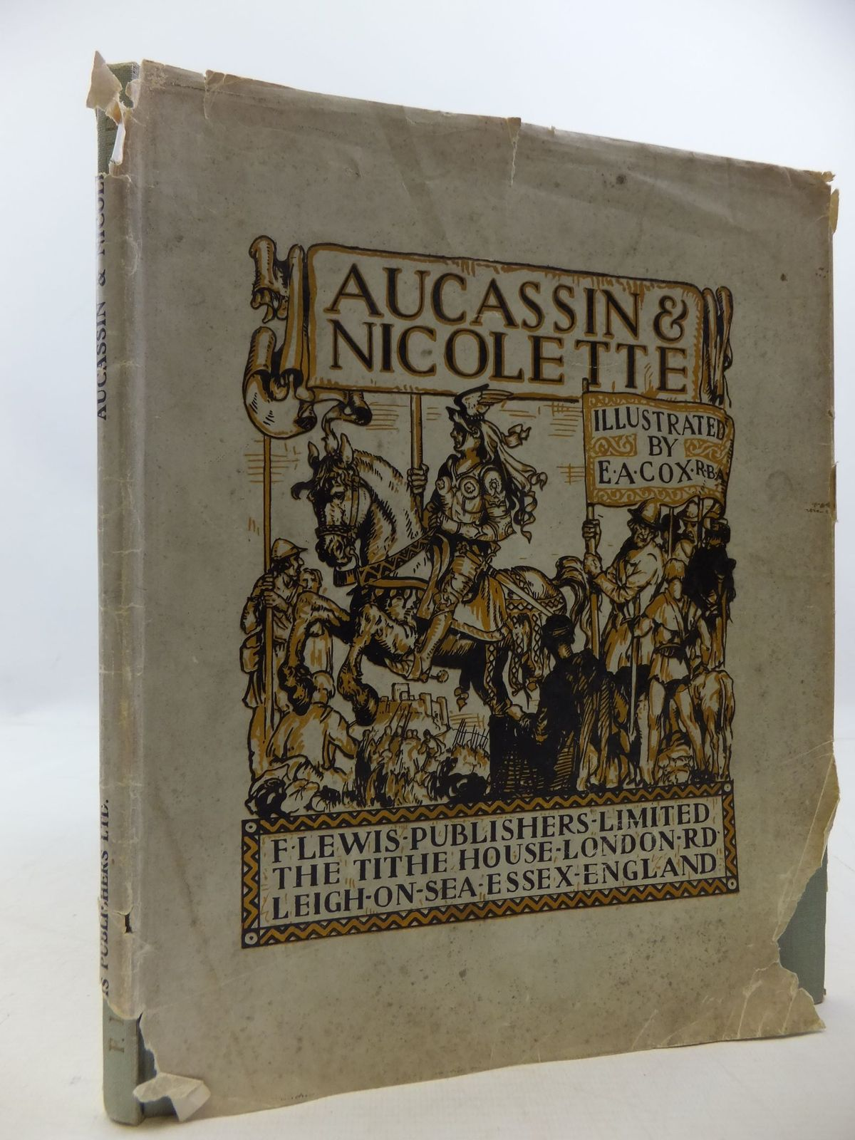 Photo of AUCASSIN AND NICOLETTE illustrated by Cox, E.A. published by F. Lewis Publishers Limited (STOCK CODE: 2112360)  for sale by Stella & Rose's Books