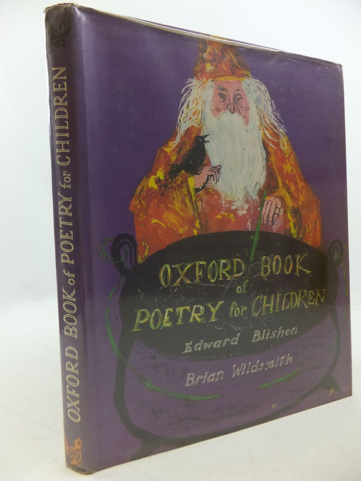 Photo of OXFORD BOOK OF POETRY FOR CHILDREN written by Blishen, Edward illustrated by Wildsmith, Brian published by Oxford University Press (STOCK CODE: 2112372)  for sale by Stella & Rose's Books