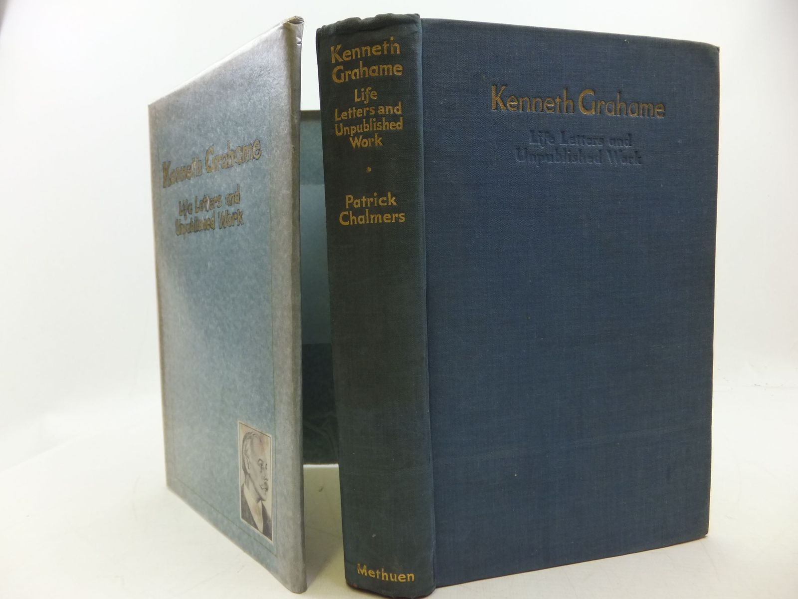 Photo of KENNETH GRAHAME LIFE, LETTERS AND UNPUBLISHED WORK written by Chalmers, Patrick R. published by Methuen & Co. Ltd. (STOCK CODE: 2112572)  for sale by Stella & Rose's Books