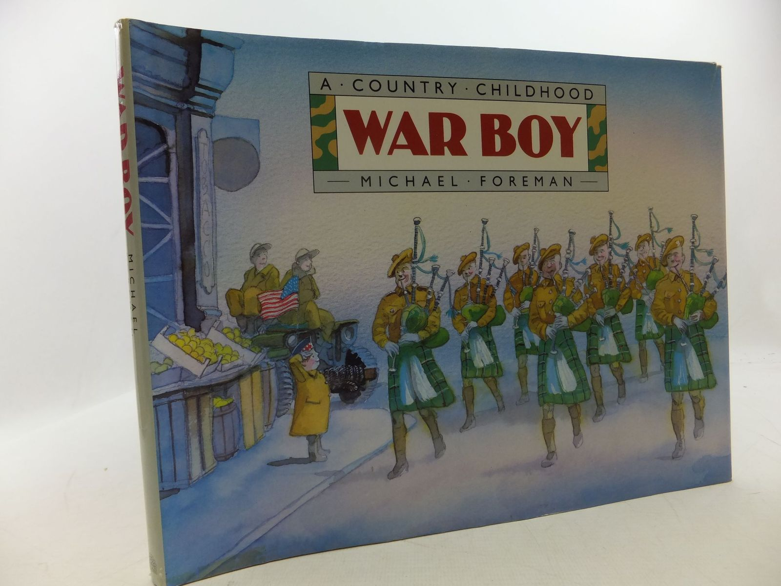Photo of WAR BOY written by Foreman, Michael illustrated by Foreman, Michael published by Pavilion Books Ltd. (STOCK CODE: 2112583)  for sale by Stella & Rose's Books