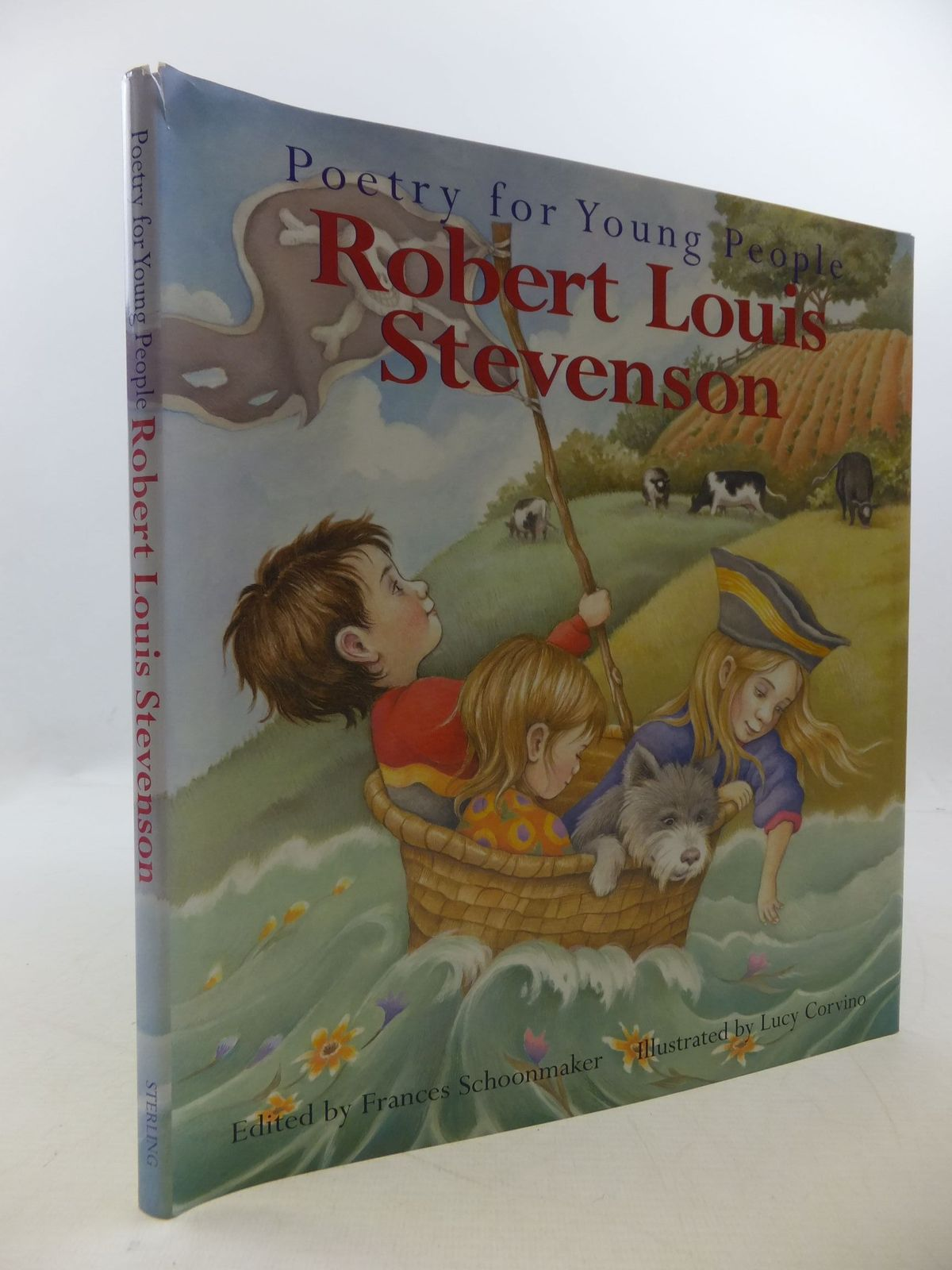 Photo of POETRY FOR YOUNG PEOPLE ROBERT LOUIS STEVENSON written by Stevenson, Robert Louis<br />Schoonmaker, Frances illustrated by Corvino, Lucy published by Sterling Publishing Co., Inc. (STOCK CODE: 2112610)  for sale by Stella & Rose's Books