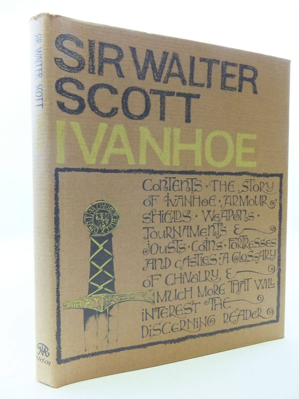 Photo of IVANHOE written by Scott, Sir Walter published by David McKay Company (STOCK CODE: 2112665)  for sale by Stella & Rose's Books
