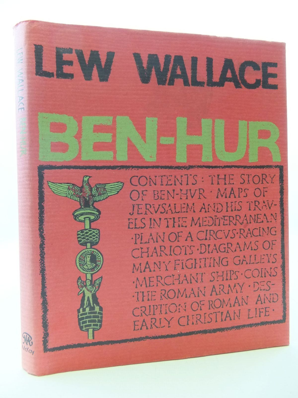 Photo of BEN-HUR written by Wallace, Lew published by David McKay Company (STOCK CODE: 2112666)  for sale by Stella & Rose's Books