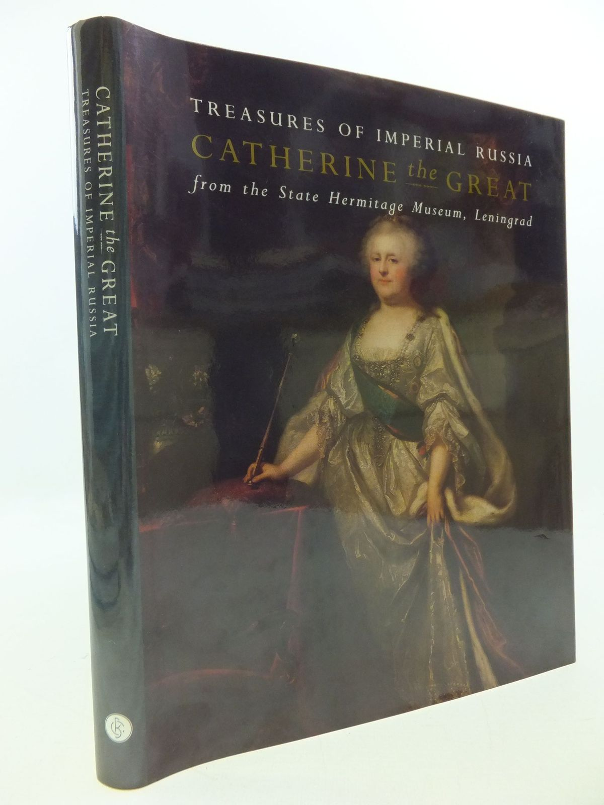 Photo of TREASURES OF IMPERIAL RUSSIA CATHERINE THE GREAT FROM THE STATE HERMITAGE MUSEUM, LENINGRAD published by Booth-Clibborn (STOCK CODE: 2112683)  for sale by Stella & Rose's Books