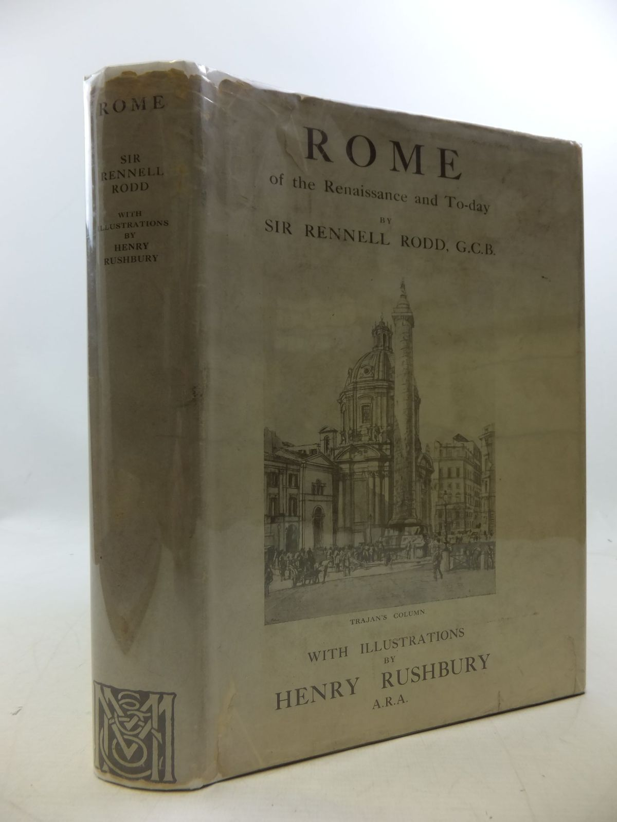 Photo of ROME OF THE RENAISSANCE AND TO-DAY written by Rodd, Rennell illustrated by Rushbury, Henry published by Macmillan & Co. Ltd. (STOCK CODE: 2112713)  for sale by Stella & Rose's Books