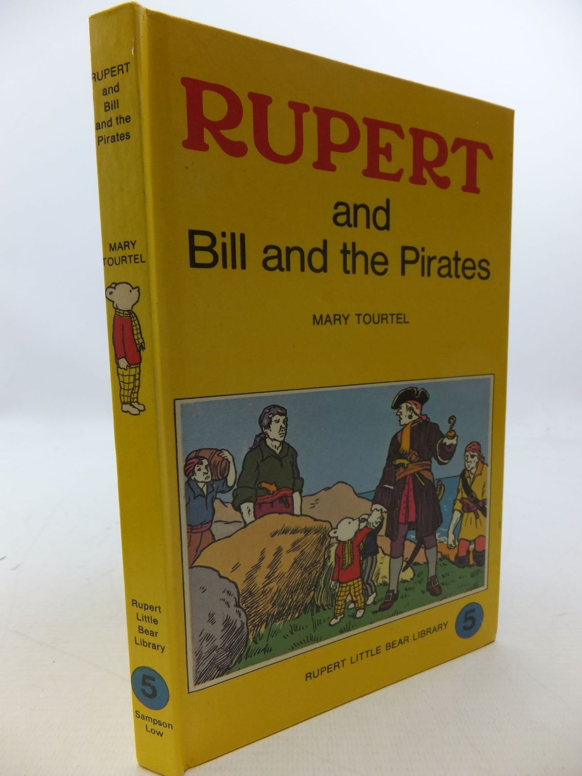 Photo of RUPERT AND BILL AND THE PIRATES - RUPERT LITTLE BEAR LIBRARY No. 5 (WOOLWORTH) written by Tourtel, Mary published by Sampson Low, Marston & Co. Ltd. (STOCK CODE: 2112762)  for sale by Stella & Rose's Books