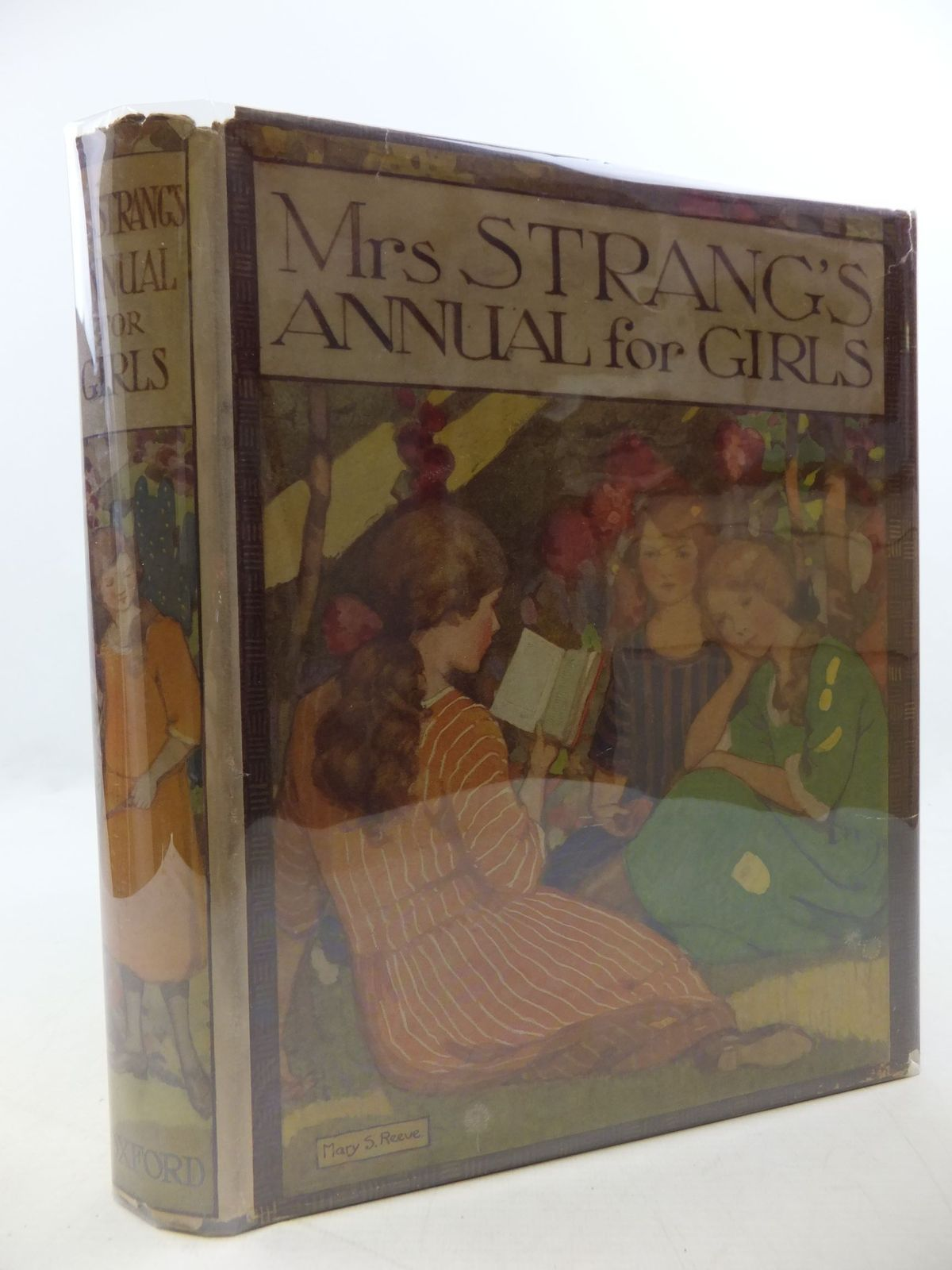 Photo of MRS STRANG'S ANNUAL FOR GIRLS written by Bruce, Dorita Fairlie<br />Girvin, Brenda<br />Stowell, Thora<br />Holmes, Lilian<br />Darch, Winifred<br />et al, illustrated by Reeve, Mary S.<br />Lodge, Grace<br />Harrison, Florence<br />Brock, C.E.<br />Millar, H.R.<br />et al., published by Oxford University Press, Humphrey Milford (STOCK CODE: 2112786)  for sale by Stella & Rose's Books