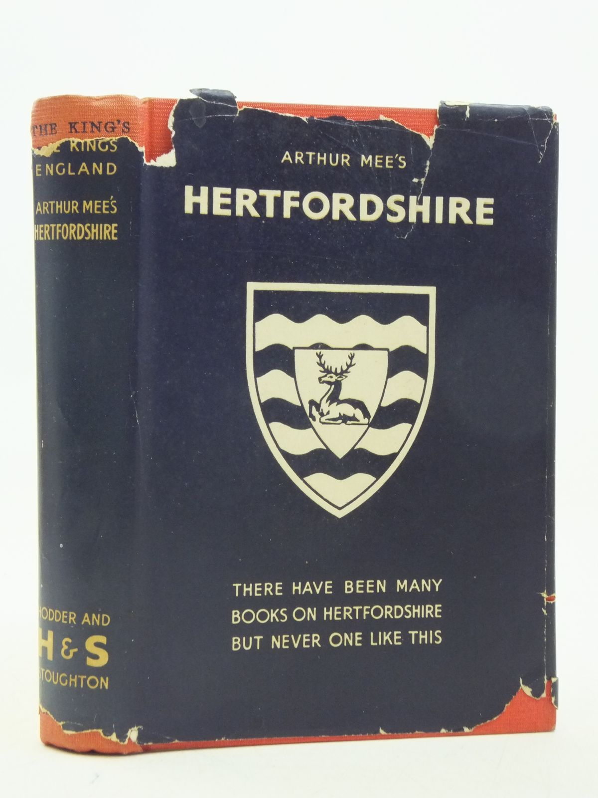Photo of HERTFORDSHIRE (KING'S ENGLAND) written by Mee, Arthur published by Hodder & Stoughton (STOCK CODE: 2112836)  for sale by Stella & Rose's Books