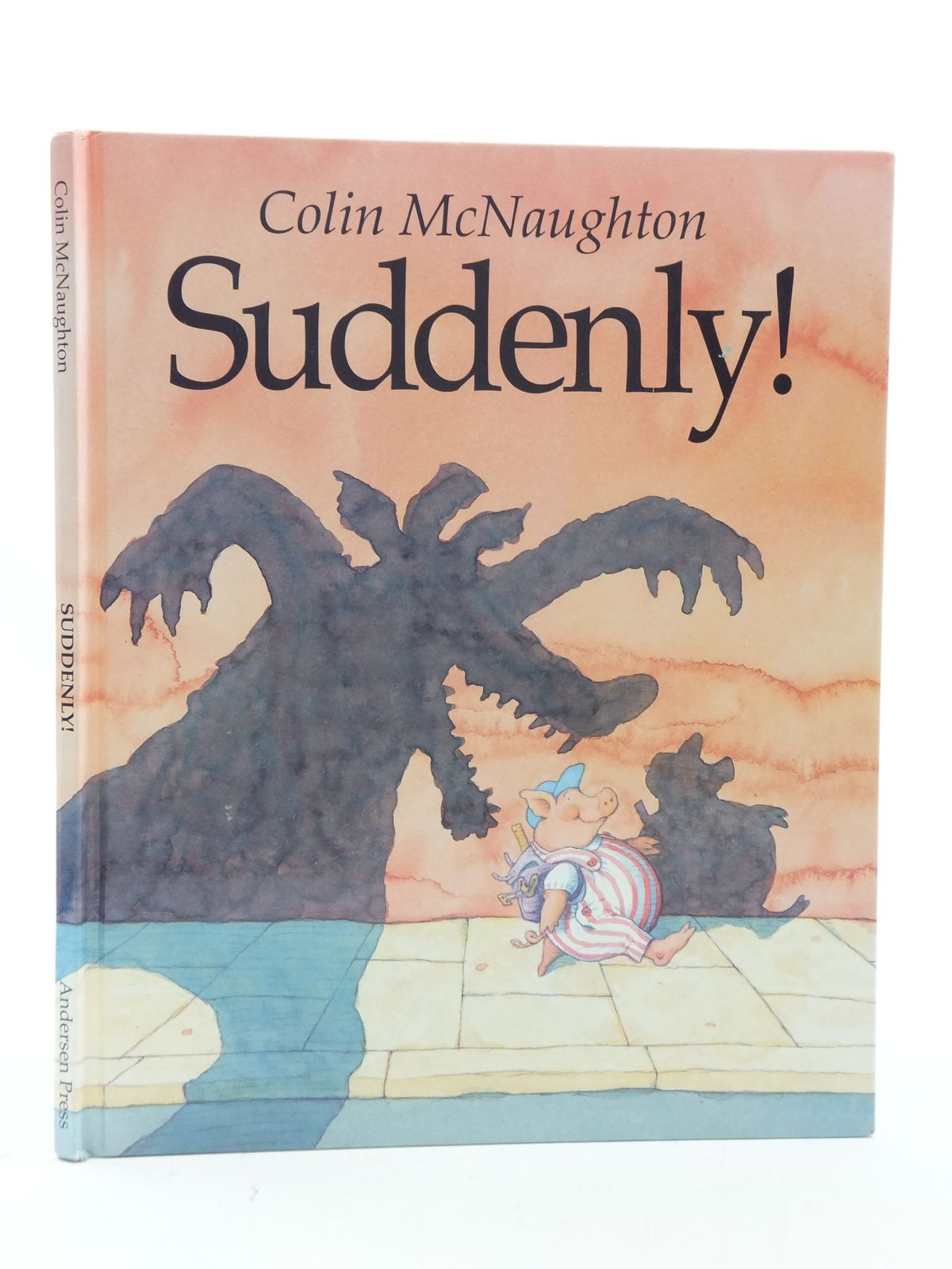 Photo of SUDDENLY! written by McNaughton, Colin illustrated by McNaughton, Colin published by Andersen Press (STOCK CODE: 2112853)  for sale by Stella & Rose's Books