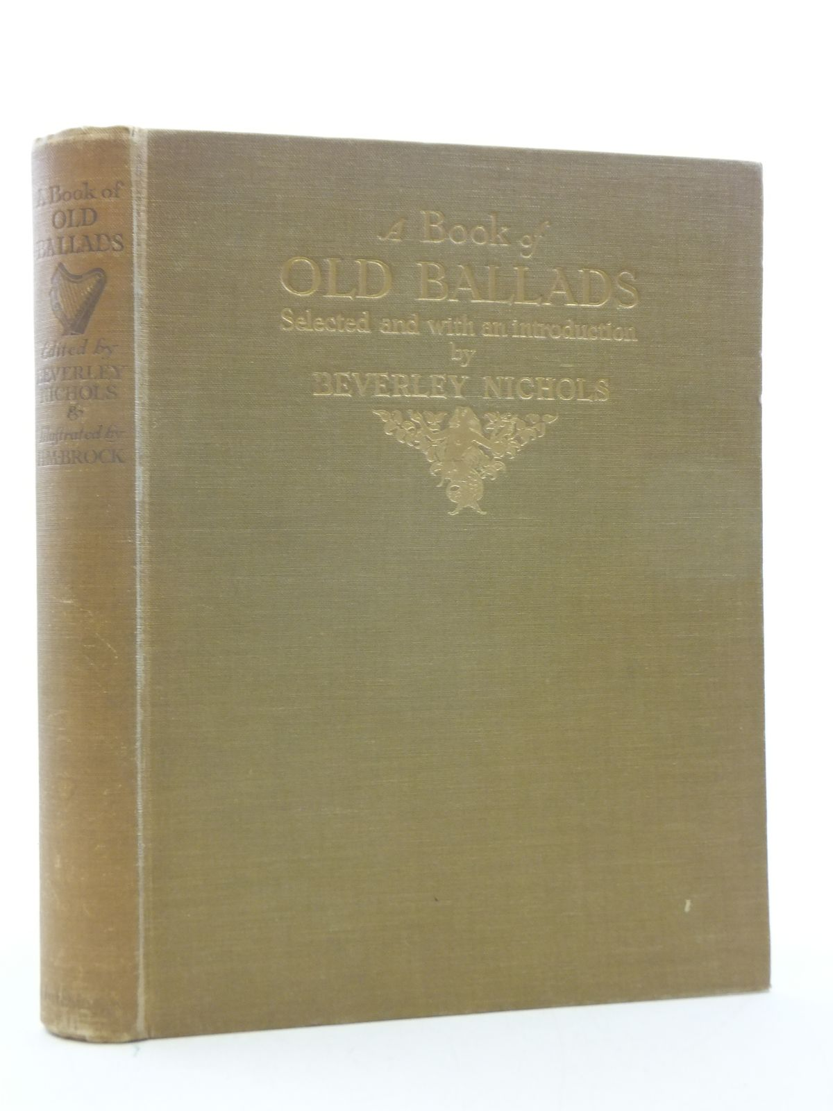 Photo of A BOOK OF OLD BALLADS written by Nichols, Beverley illustrated by Brock, H.M. published by Hutchinson & Co. Ltd (STOCK CODE: 2112874)  for sale by Stella & Rose's Books