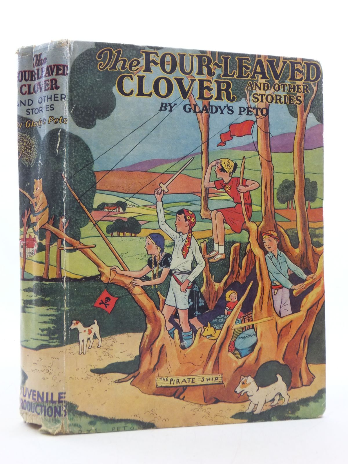 Photo of THE FOUR-LEAVED CLOVER AND OTHER STORIES written by Peto, Gladys illustrated by Peto, Gladys published by Juvenile Productions Ltd. (STOCK CODE: 2112875)  for sale by Stella & Rose's Books
