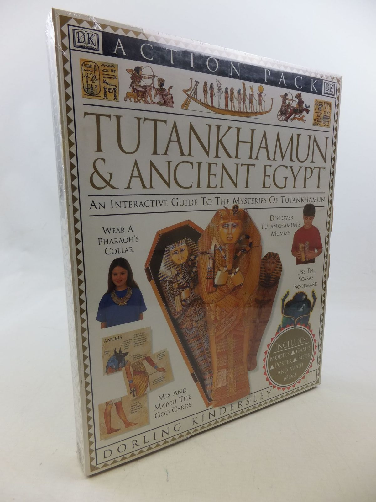 Photo of TUTANKHAMUN & ANCIENT EGYPT AN INTERACTIVE GUIDE TO THE MYSTERIES OF TUTANKHAMUN published by Dorling Kindersley (STOCK CODE: 2112950)  for sale by Stella & Rose's Books