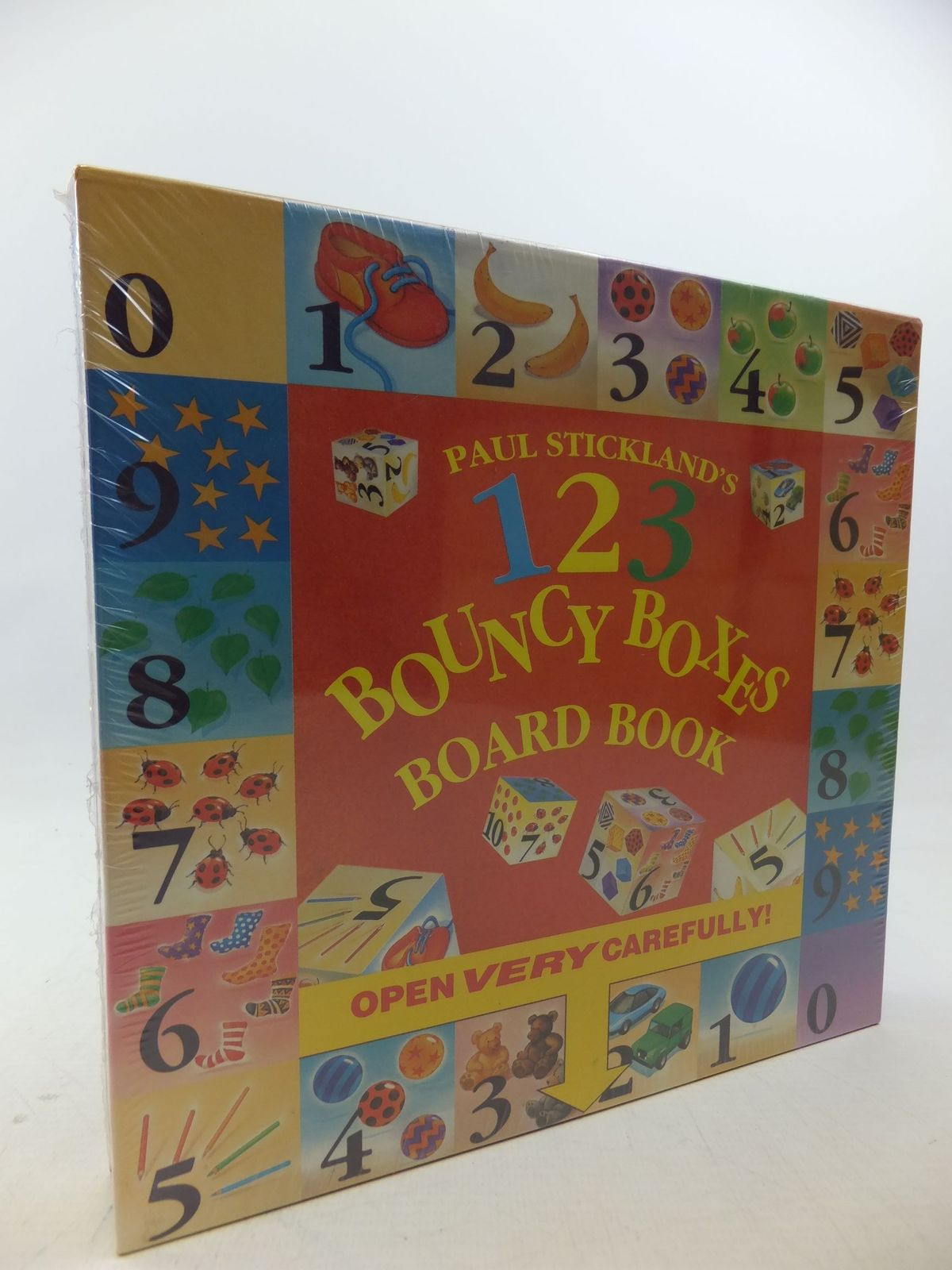 Photo of 123 BOUNCY BOXES AND BOARD BOOK written by Strickland, Paul published by Ragged Bears Limited (STOCK CODE: 2112977)  for sale by Stella & Rose's Books