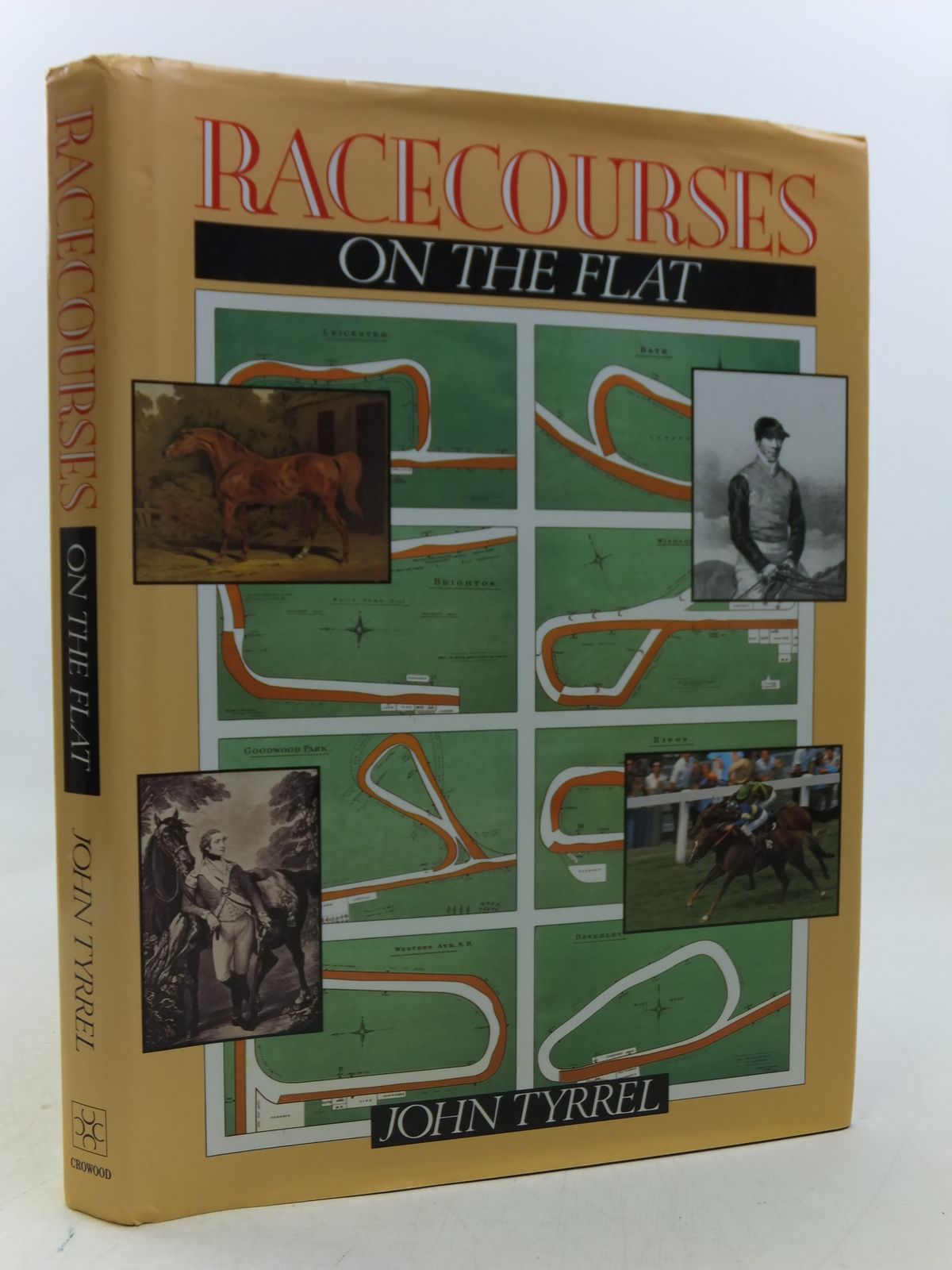 Photo of RACECOURSES ON THE FLAT written by Tyrrel, John published by The Crowood Press (STOCK CODE: 2113084)  for sale by Stella & Rose's Books
