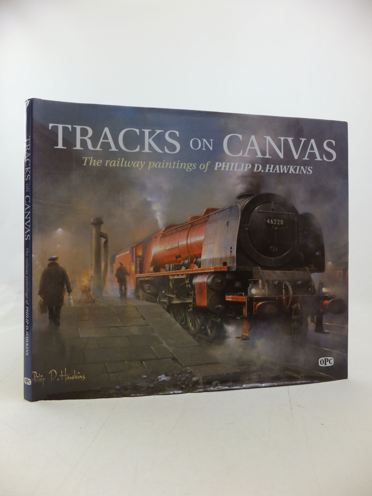 Photo of TRACKS ON CANVAS written by Hawkins, Philip D. illustrated by Hawkins, Philip D. published by Oxford Publishing (STOCK CODE: 2113160)  for sale by Stella & Rose's Books
