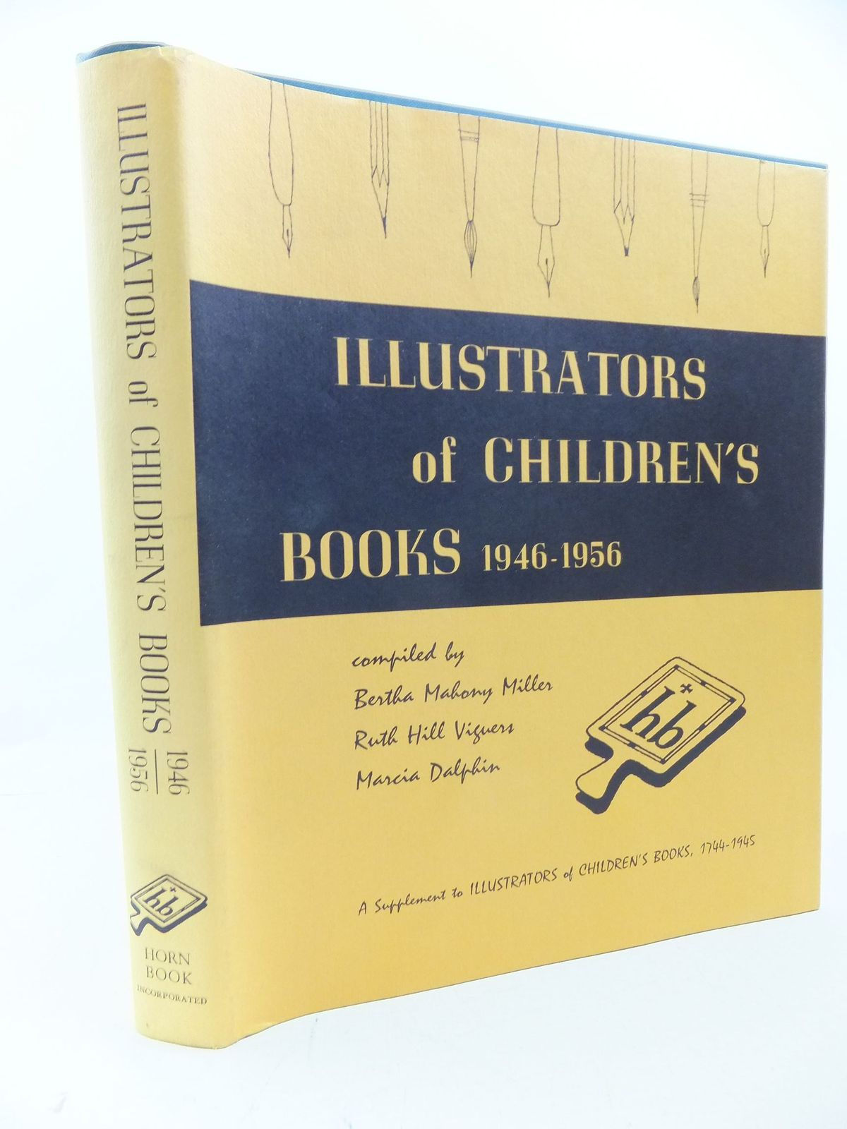 Photo of ILLUSTRATORS OF CHILDREN'S BOOKS 1946-1956 written by Viguers, Ruth Hill<br />Dalphin, Marcia<br />Miller, Bertha Mahony published by The Horn Book Inc. (STOCK CODE: 2113359)  for sale by Stella & Rose's Books