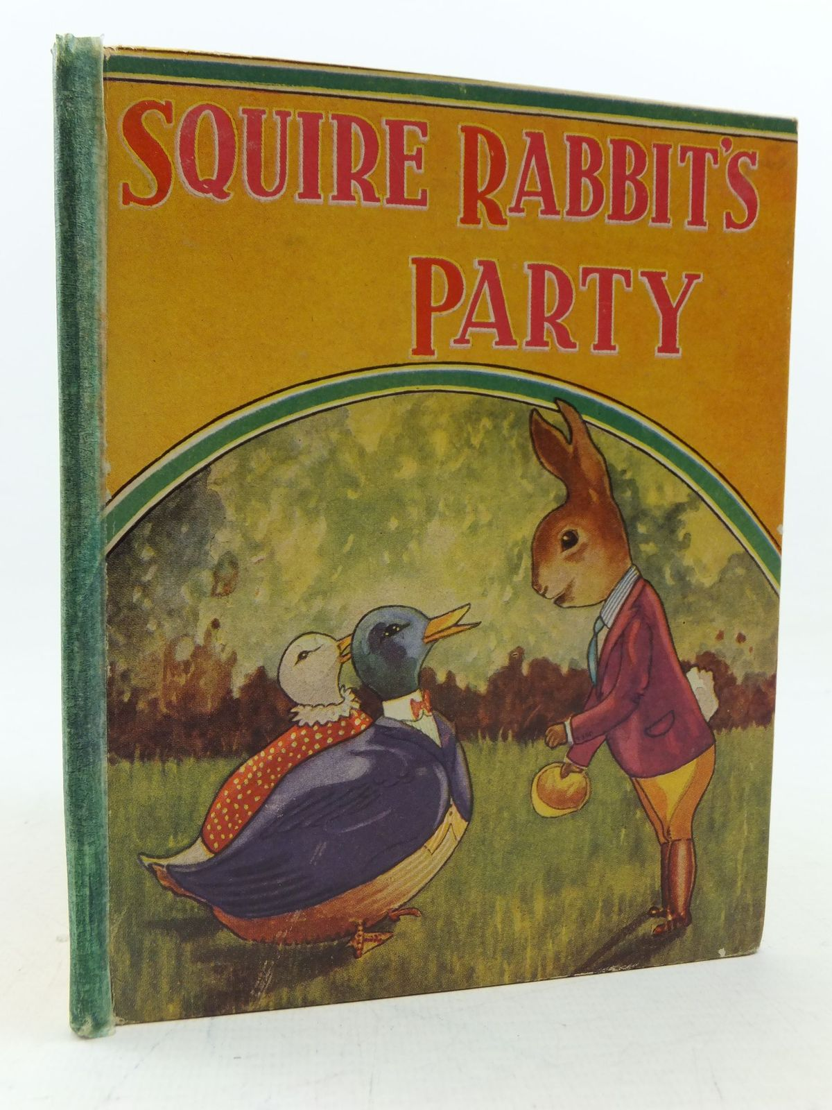 Photo of SQUIRE RABBIT'S PARTY written by Warden, Mary illustrated by Lambart, Michael published by Sandle Brothers Ltd. (STOCK CODE: 2113501)  for sale by Stella & Rose's Books