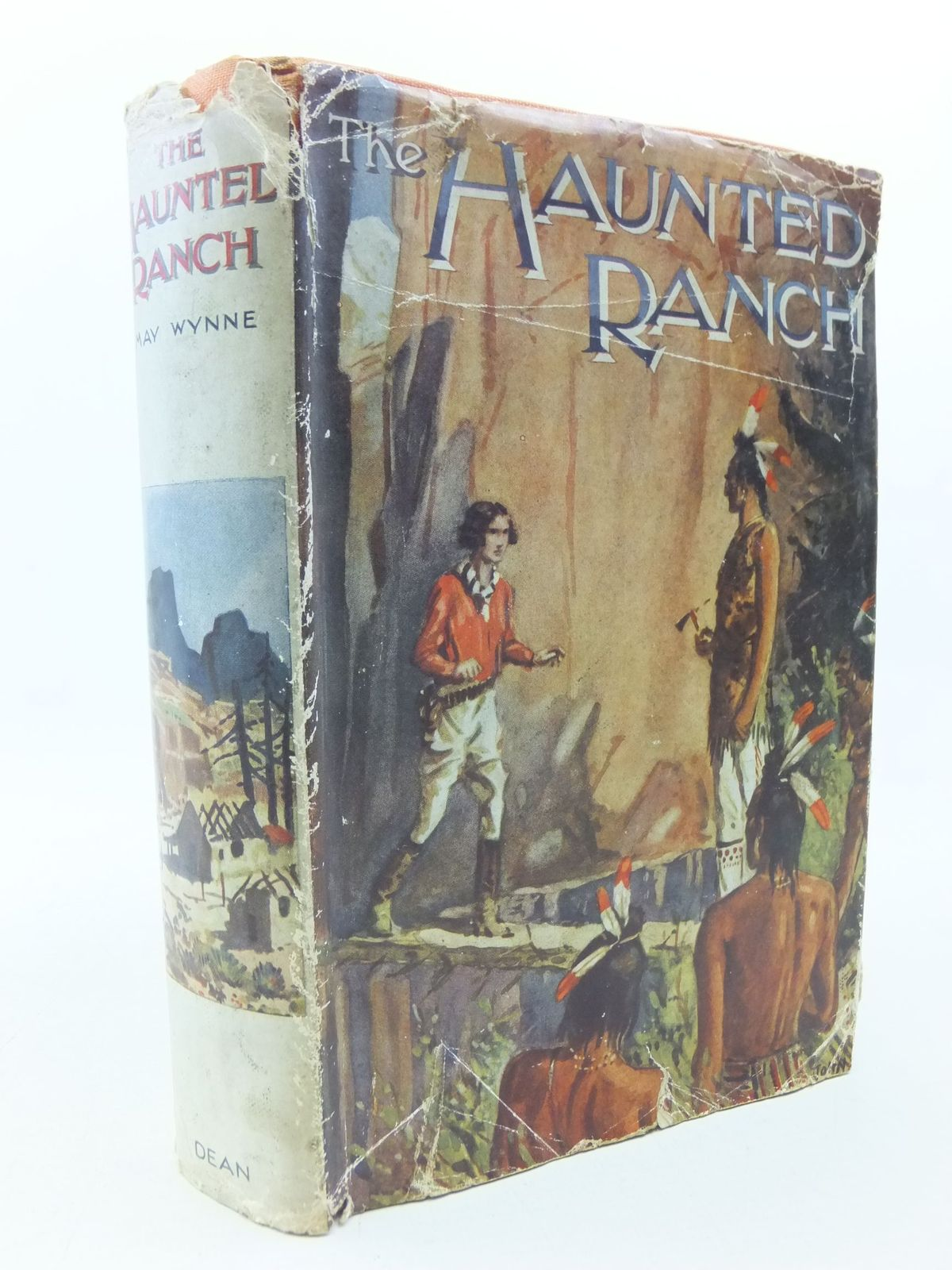 Photo of THE HAUNTED RANCH written by Wynne, May illustrated by Harris, John published by Dean & Son Ltd. (STOCK CODE: 2113598)  for sale by Stella & Rose's Books