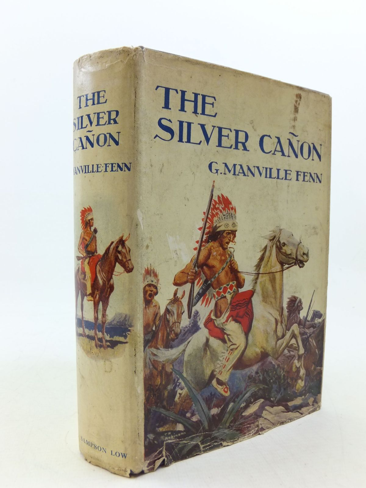 Photo of THE SILVER CANON written by Fenn, George Manville illustrated by M.L.P., published by Sampson Low, Marston & Co. Ltd. (STOCK CODE: 2113605)  for sale by Stella & Rose's Books