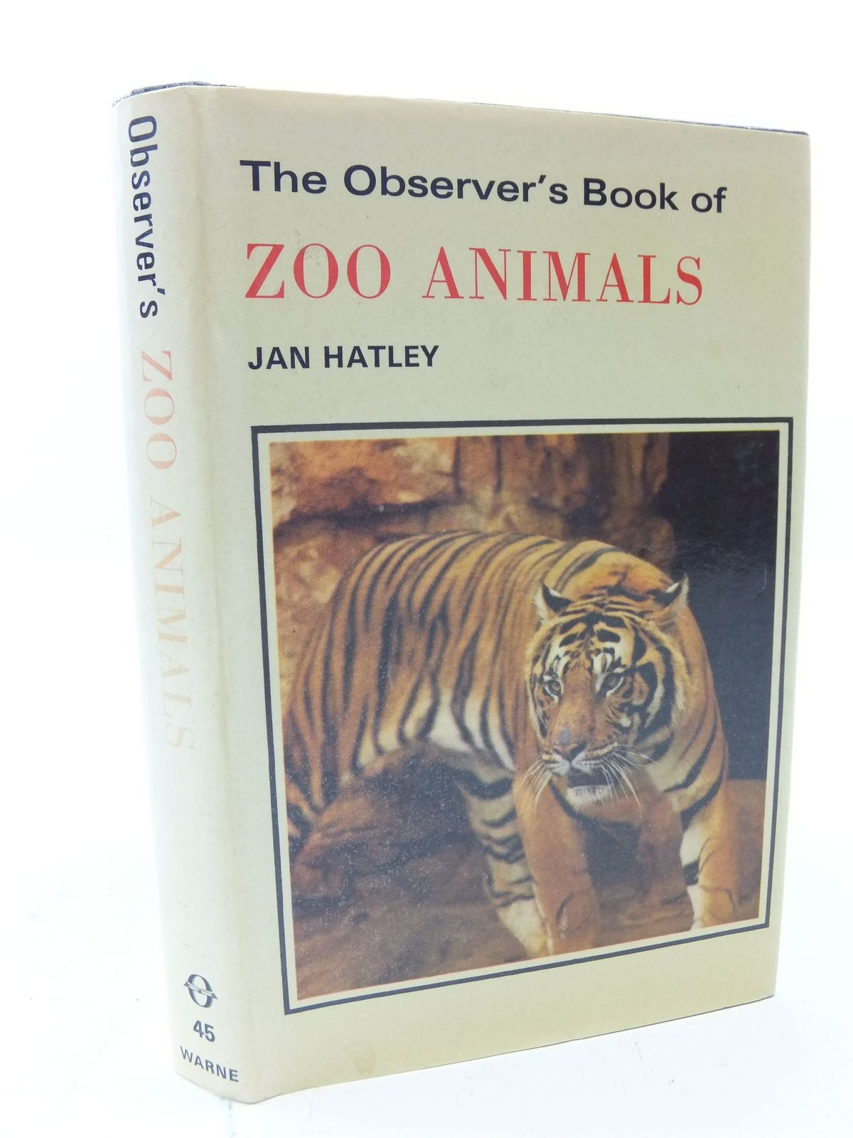Photo of THE OBSERVER'S BOOK OF ZOO ANIMALS written by Hatley, Jan published by Frederick Warne (STOCK CODE: 2113634)  for sale by Stella & Rose's Books