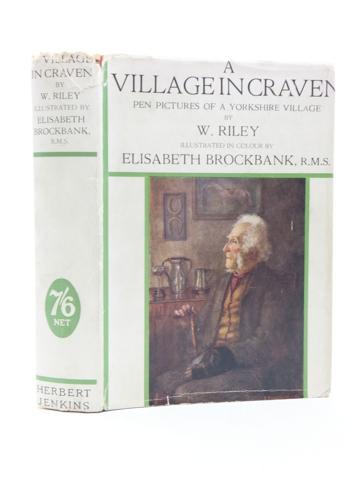 Photo of A VILLAGE IN CRAVEN written by Riley, W. illustrated by Brockbank, Elisabeth published by Herbert Jenkins (STOCK CODE: 2113781)  for sale by Stella & Rose's Books