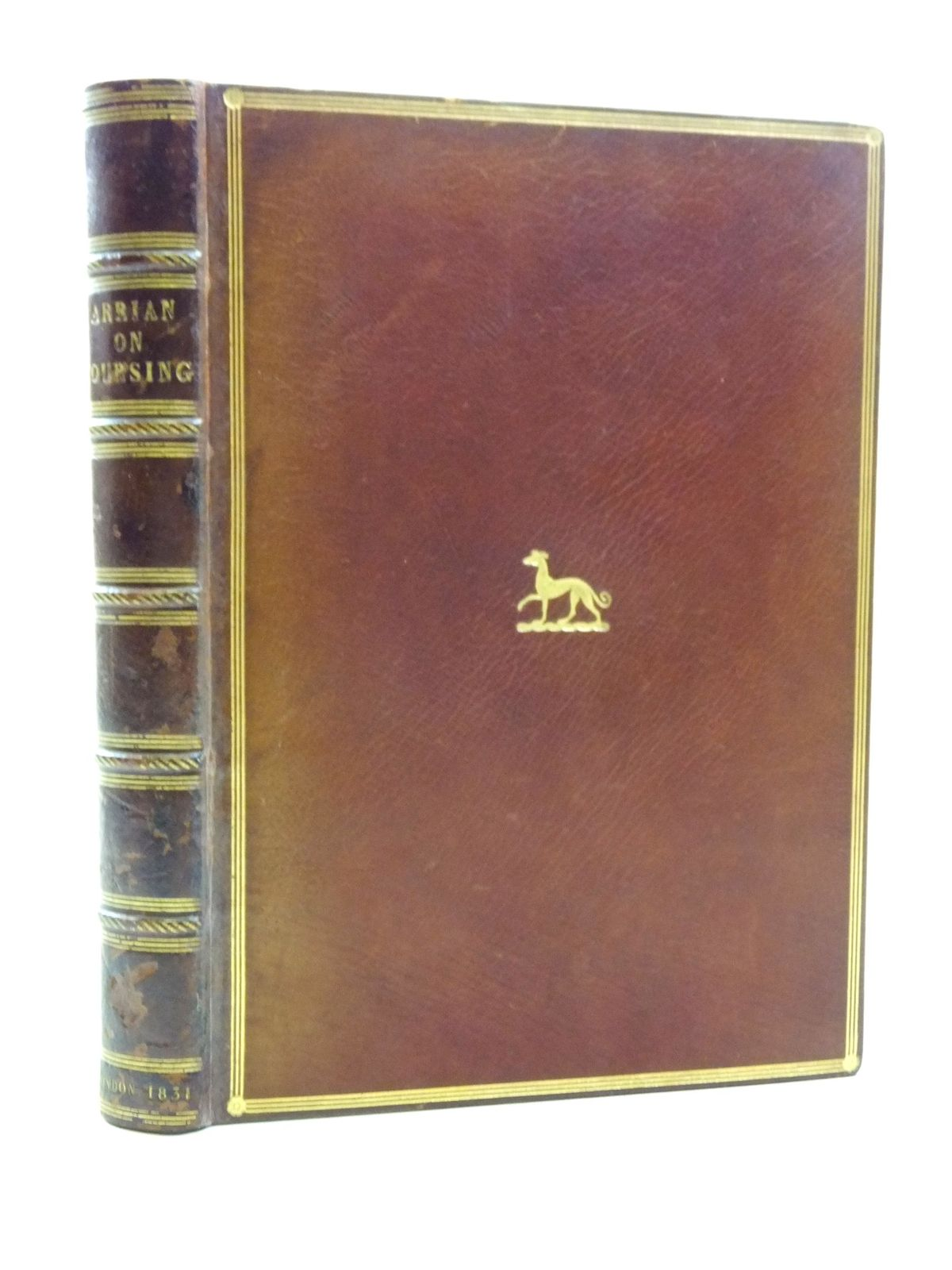 Photo of ARRIAN ON COURSING: THE CYNEGETICUS OF THE YOUNGER XENOPHON written by Arrian, published by J. Bohn (STOCK CODE: 2113862)  for sale by Stella & Rose's Books