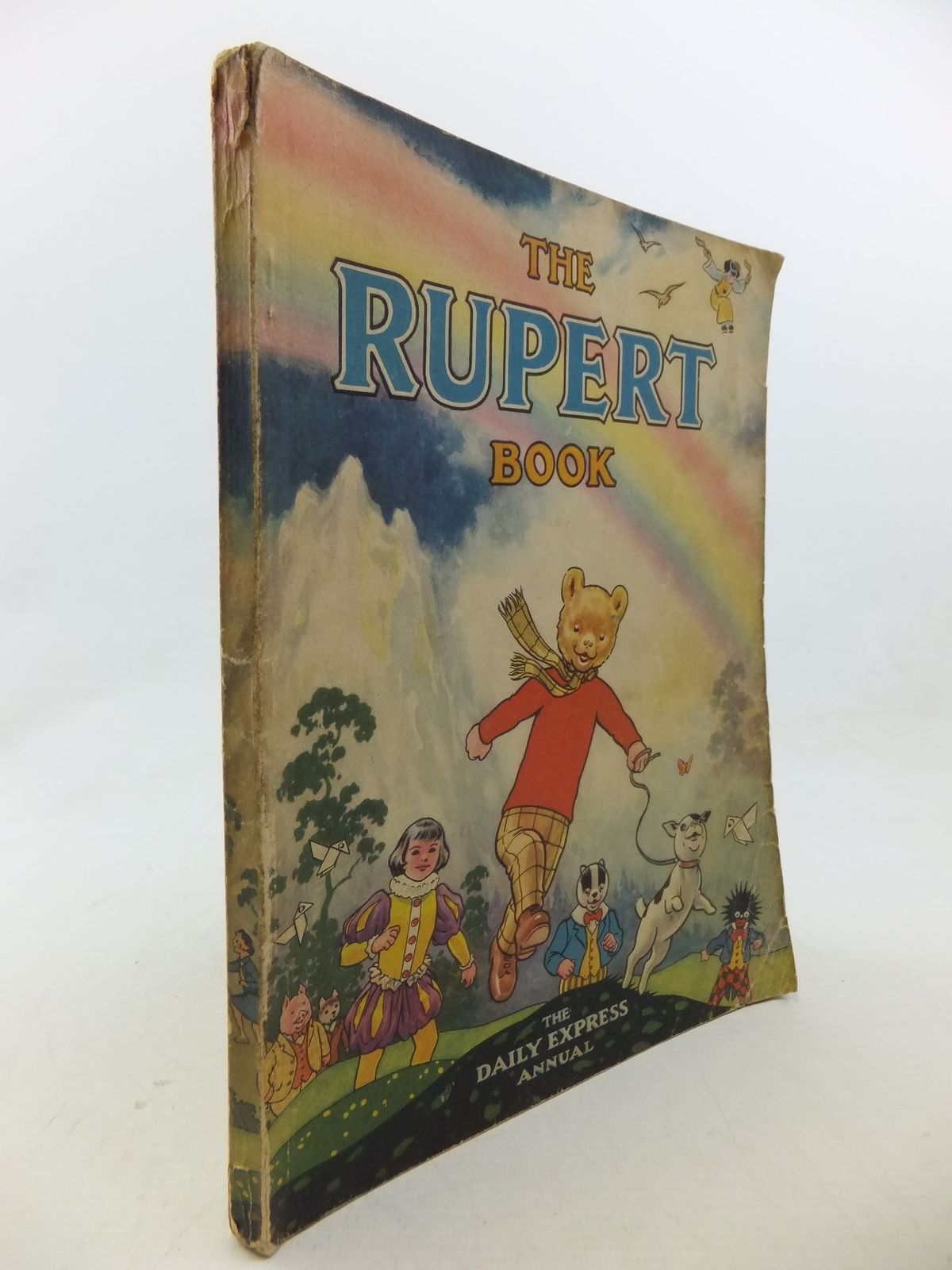 Photo of RUPERT ANNUAL 1948 - THE RUPERT BOOK written by Bestall, Alfred illustrated by Bestall, Alfred published by Daily Express (STOCK CODE: 2113911)  for sale by Stella & Rose's Books