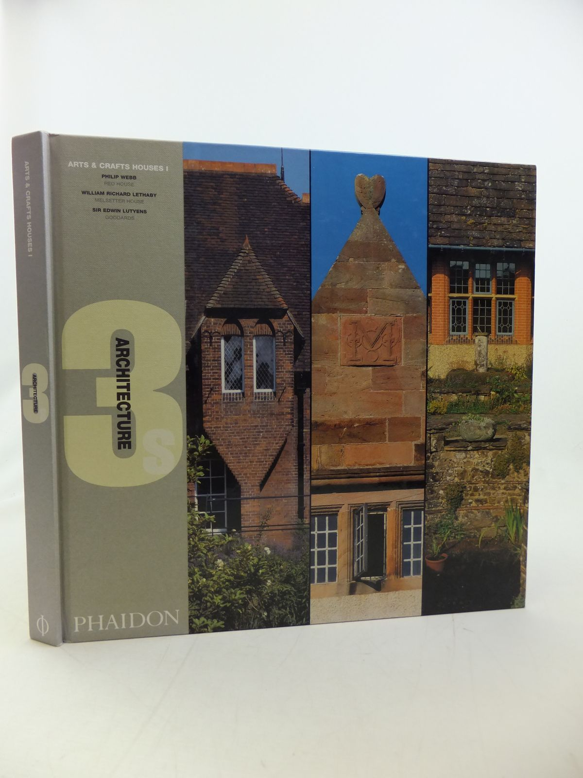 Photo of ARTS & CRAFTS HOUSES I (ARCHITECTURE 3S) written by Dunlop, Beth<br />Hollamby, Edward<br />Garnham, Trevor<br />Edwards, Brian published by Phaidon Press Limited (STOCK CODE: 2114050)  for sale by Stella & Rose's Books