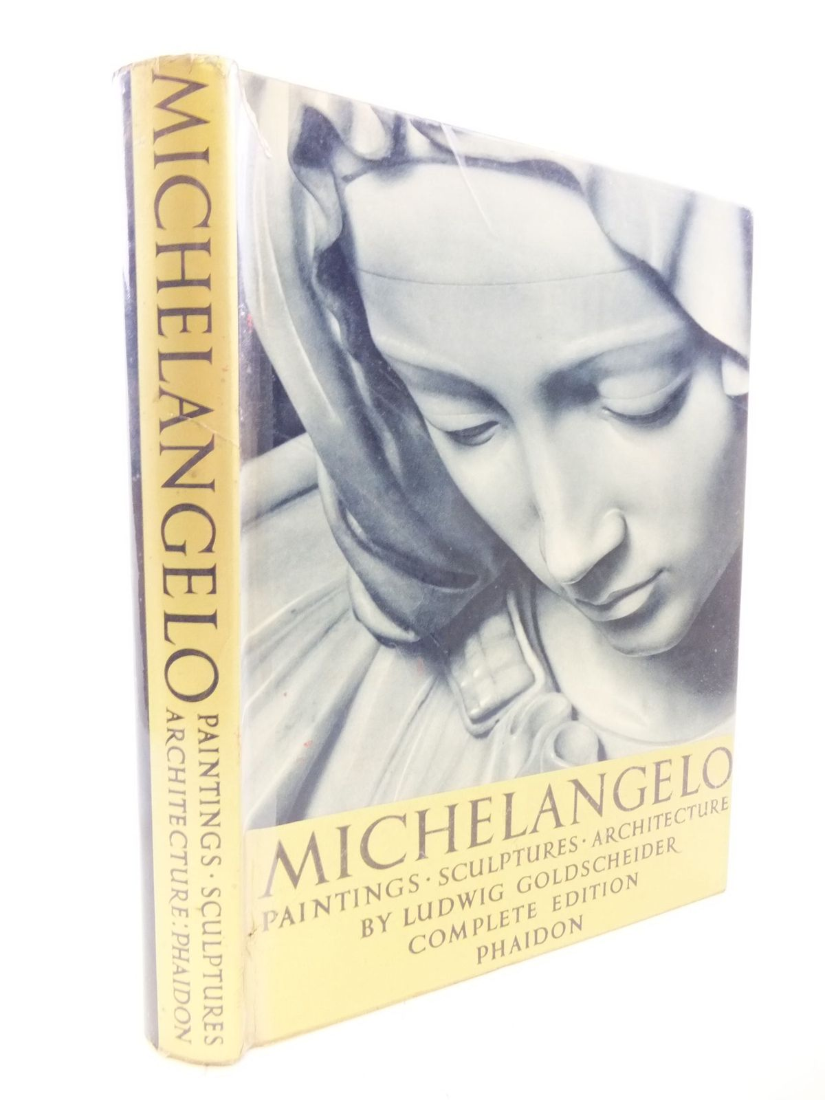 Photo of MICHELANGELO PAINTINGS, SCULPTURES, ARCHITECTURE written by Goldscheider, Ludwig illustrated by Michelangelo, published by Phaidon Press (STOCK CODE: 2114099)  for sale by Stella & Rose's Books