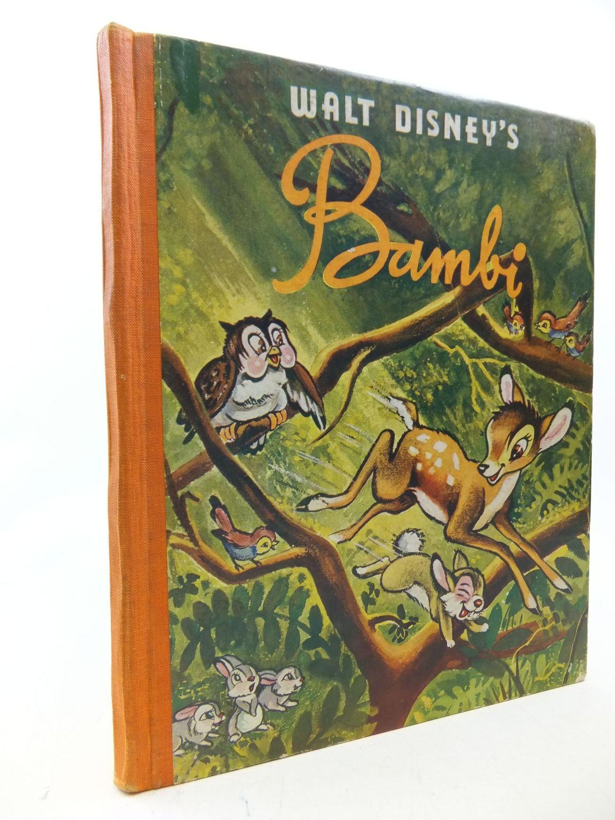 Walt Disney S Bambi 1941 Hardcover Big Golden Book Golden Press