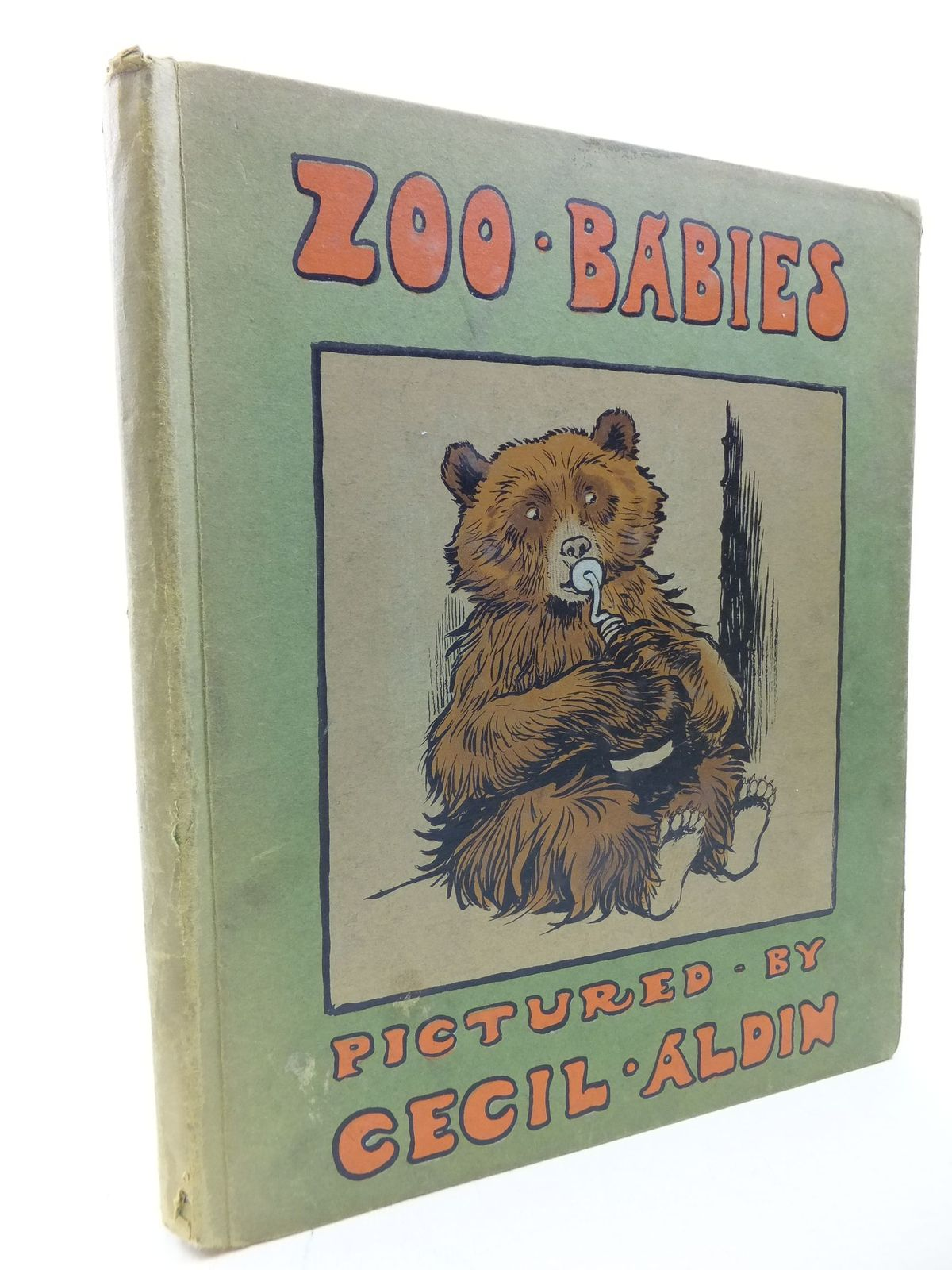 Photo of ZOO BABIES written by Farrow, G.E. illustrated by Aldin, Cecil published by Henry Frowde, Hodder & Stoughton (STOCK CODE: 2114158)  for sale by Stella & Rose's Books