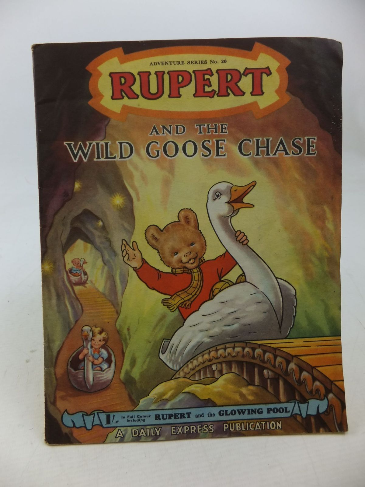 Photo of RUPERT ADVENTURE SERIES No. 20 - RUPERT AND THE WILD GOOSE CHASE written by Bestall, Alfred illustrated by Bestall, Alfred published by Daily Express (STOCK CODE: 2114201)  for sale by Stella & Rose's Books