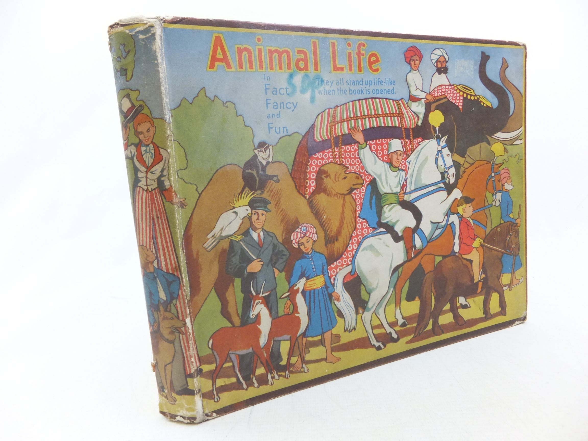 Photo of ANIMAL LIFE IN FACT, FANCY AND FUN written by Giraud, S. Louis published by Daily Sketch & Sunday Graphic Ltd. (STOCK CODE: 2114240)  for sale by Stella & Rose's Books