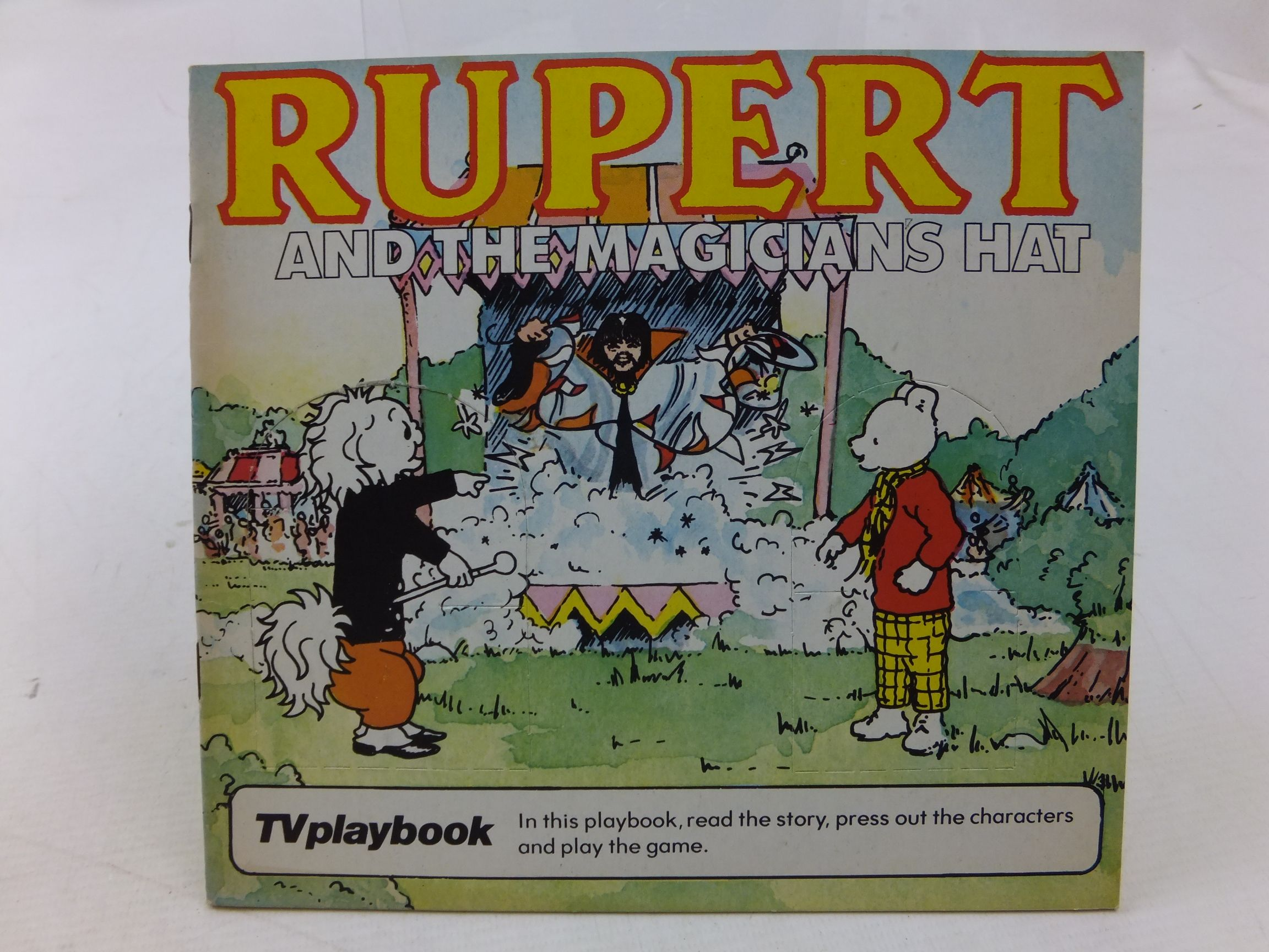 Photo of RUPERT AND THE MAGICIAN'S HAT written by Wells, Mick illustrated by Wells, Mick published by Michael Stanfield Holdings Ltd. (STOCK CODE: 2114268)  for sale by Stella & Rose's Books