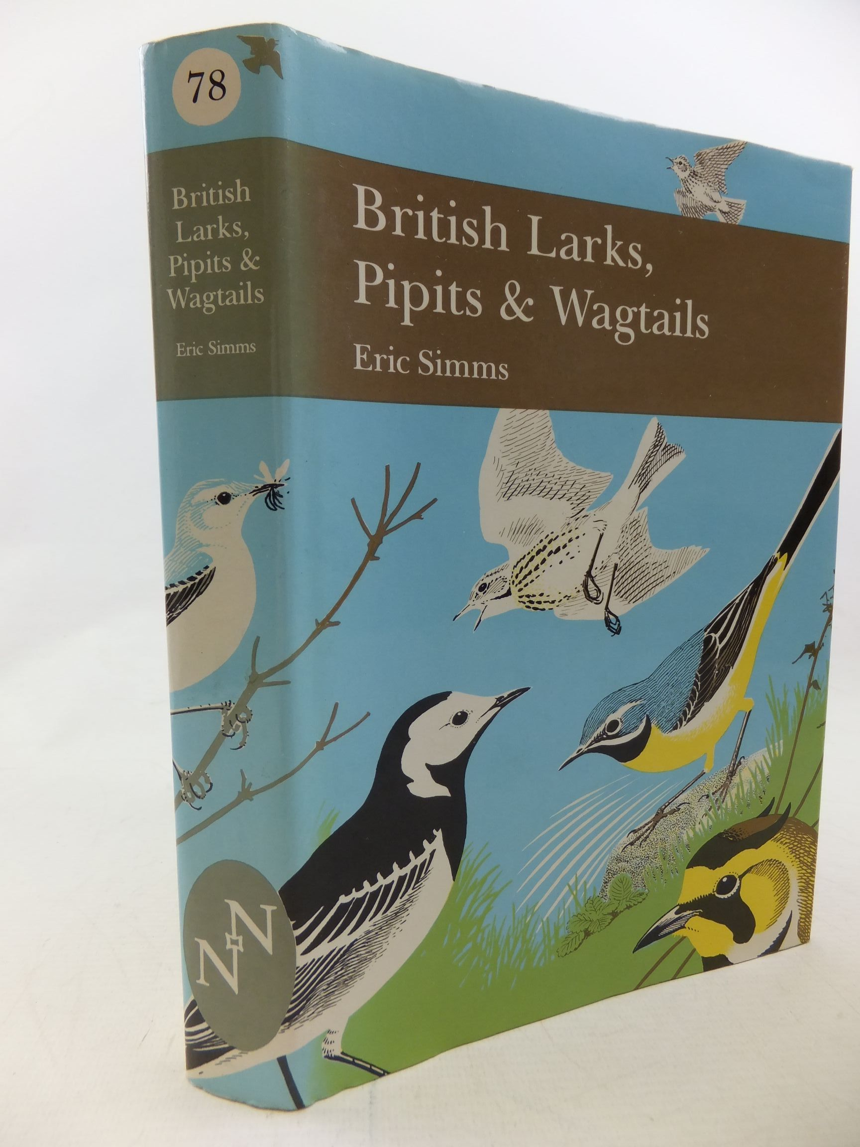 Photo of BRITISH LARKS, PIPITS AND WAGTAILS (NN78) written by Simms, Eric published by Collins (STOCK CODE: 2114344)  for sale by Stella & Rose's Books