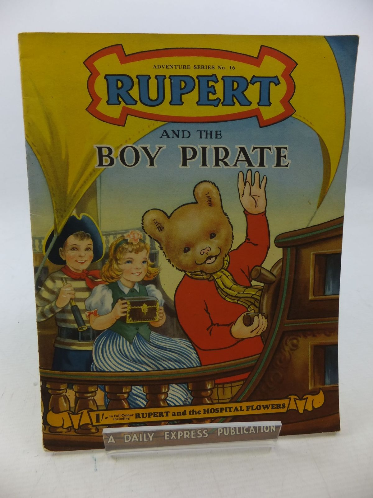 Photo of RUPERT ADVENTURE SERIES No. 16 - RUPERT AND THE BOY PIRATE written by Bestall, Alfred published by Daily Express (STOCK CODE: 2114370)  for sale by Stella & Rose's Books