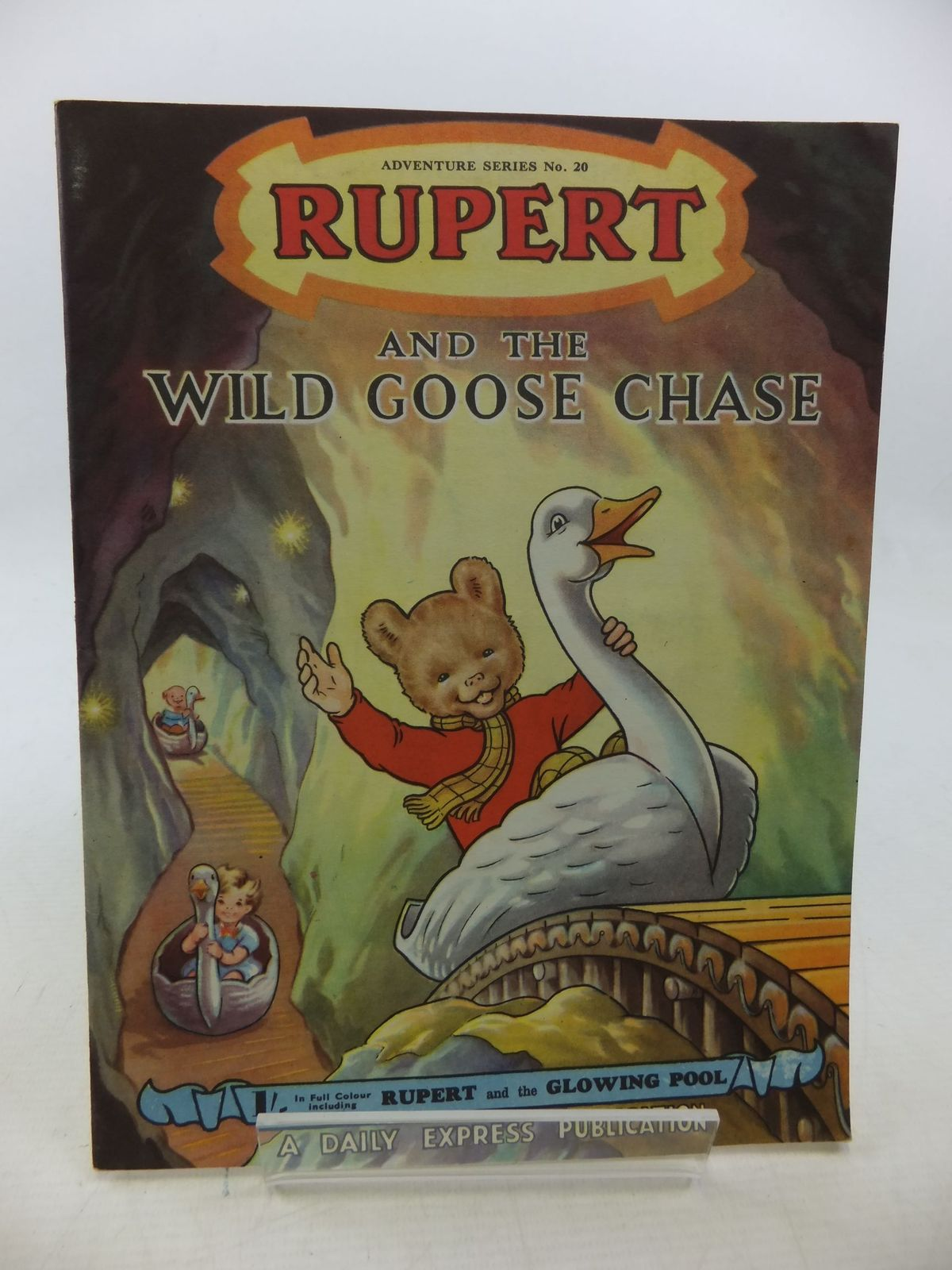 Photo of RUPERT ADVENTURE SERIES No. 20 - RUPERT AND THE WILD GOOSE CHASE written by Bestall, Alfred illustrated by Bestall, Alfred published by Daily Express (STOCK CODE: 2114371)  for sale by Stella & Rose's Books