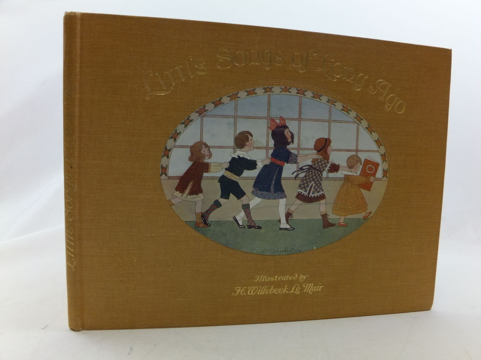 Photo of LITTLE SONGS OF LONG AGO written by Moffat, Alfred illustrated by Willebeek Le Mair, Henriette published by Augener Ltd. (STOCK CODE: 2114431)  for sale by Stella & Rose's Books